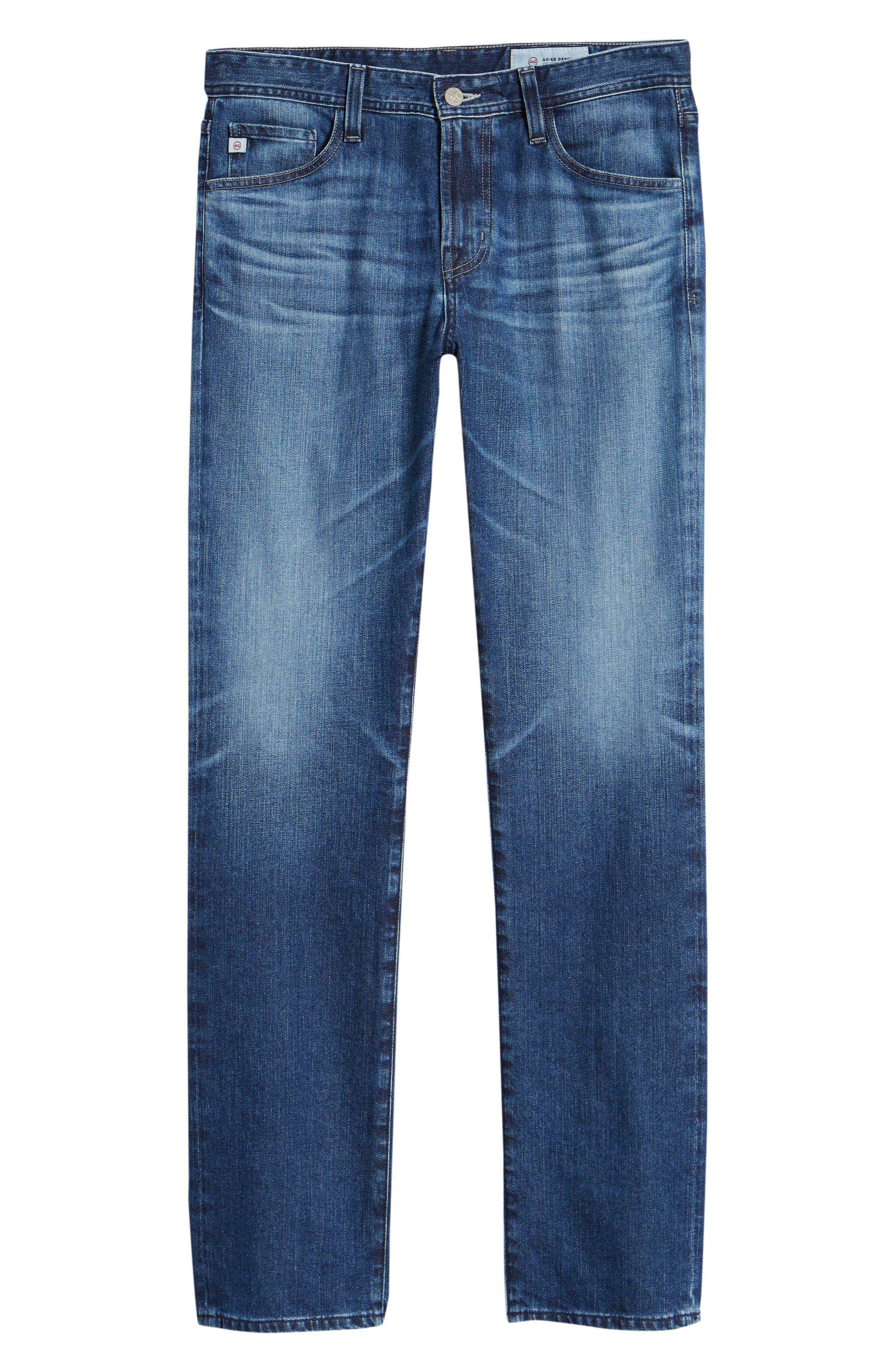 Everett Slim Straight Leg Jeans,                             Alternate thumbnail 6, color,                             9 YEARS SEQUENCE