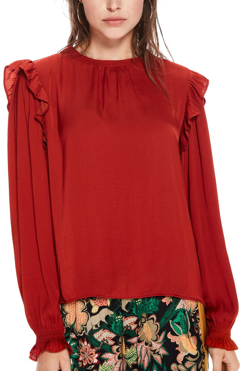 Scotch & Soda RUFFLE TOP