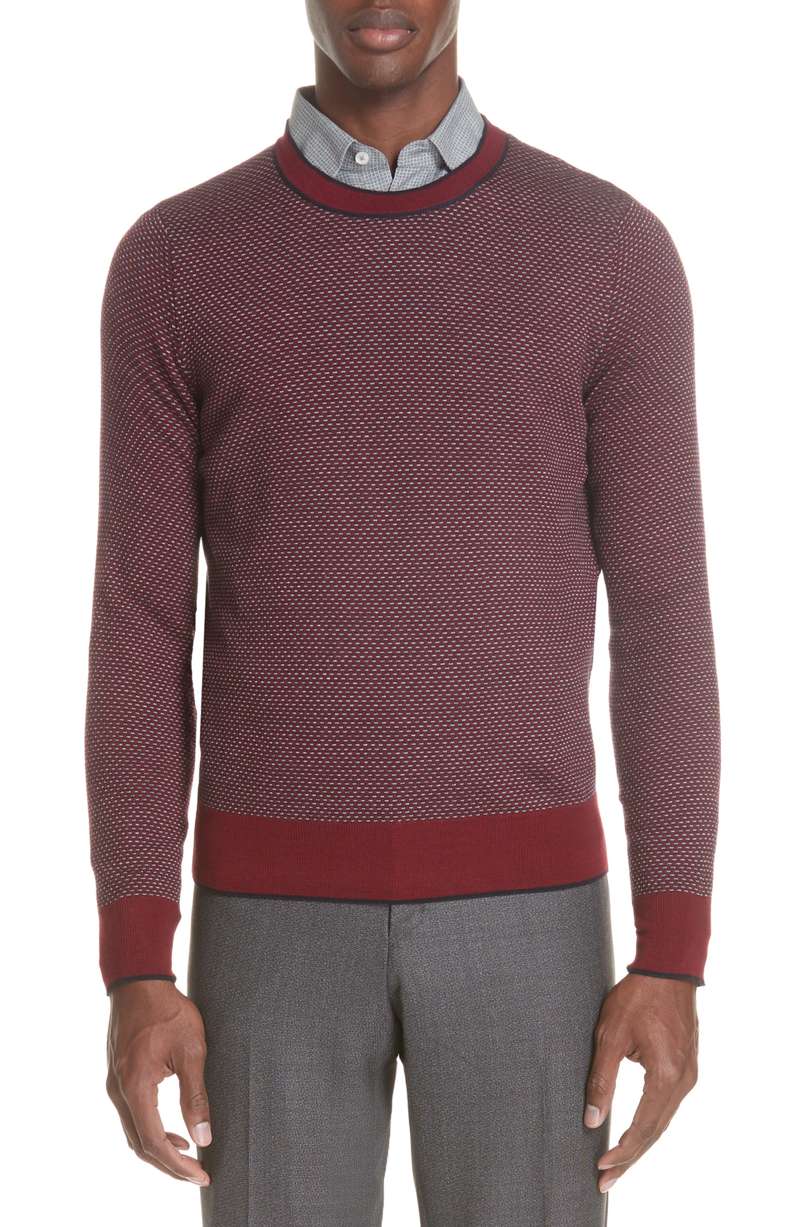 Crewneck Wool Sweater,                             Main thumbnail 1, color,                             600