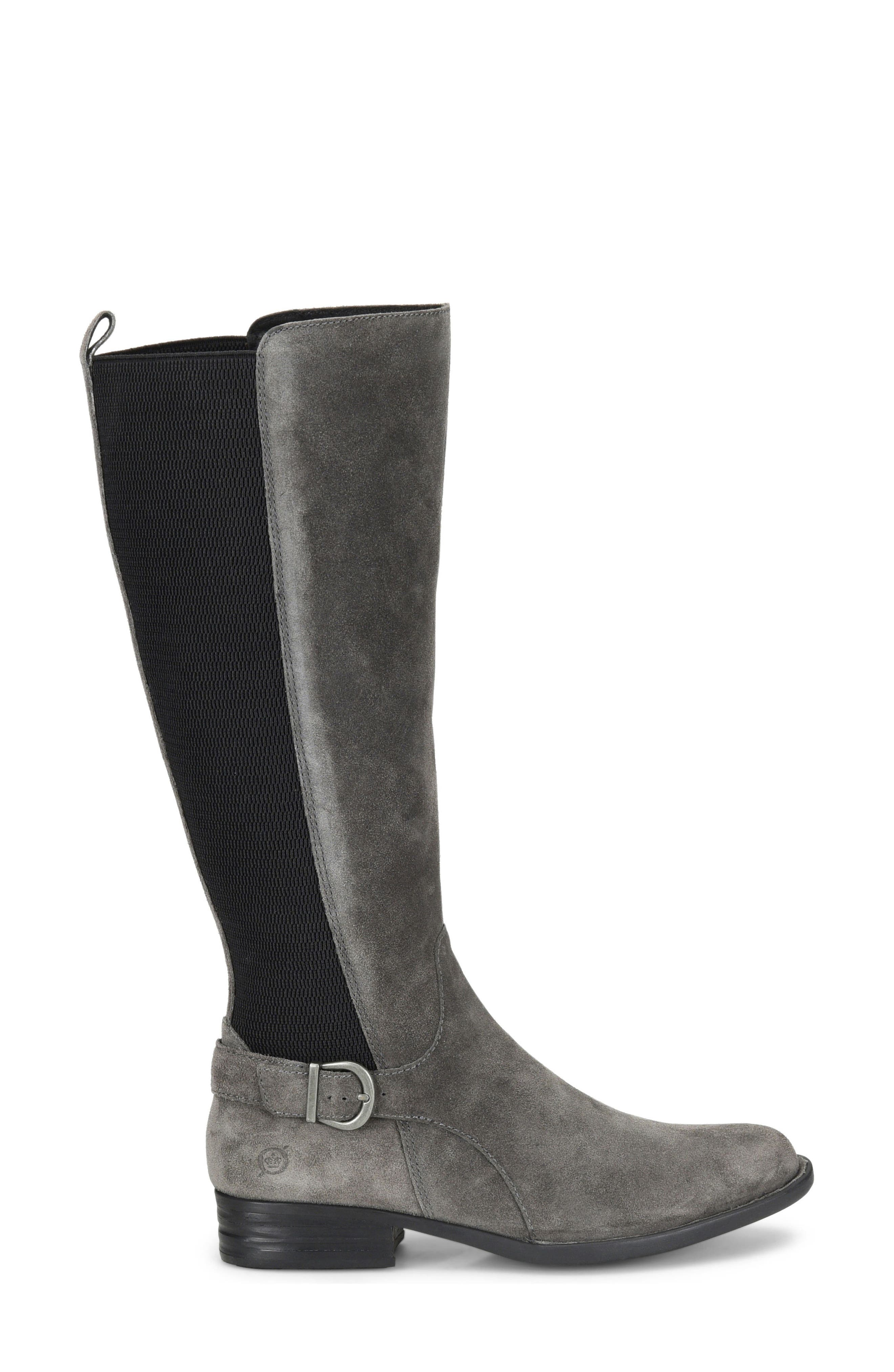 Campbell Knee High Elastic Back Boot,                             Alternate thumbnail 8, color,