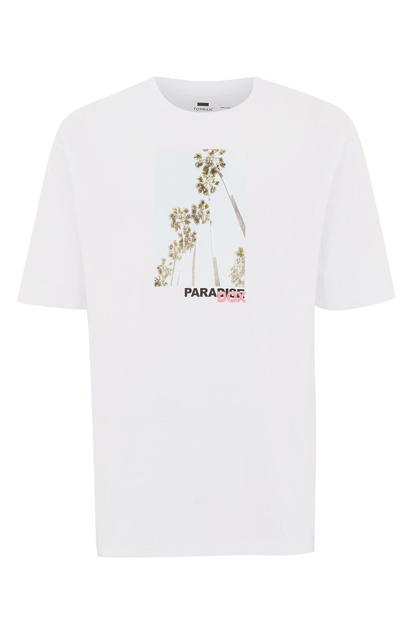 Paradox Graphic T-Shirt,                             Alternate thumbnail 3, color,                             100