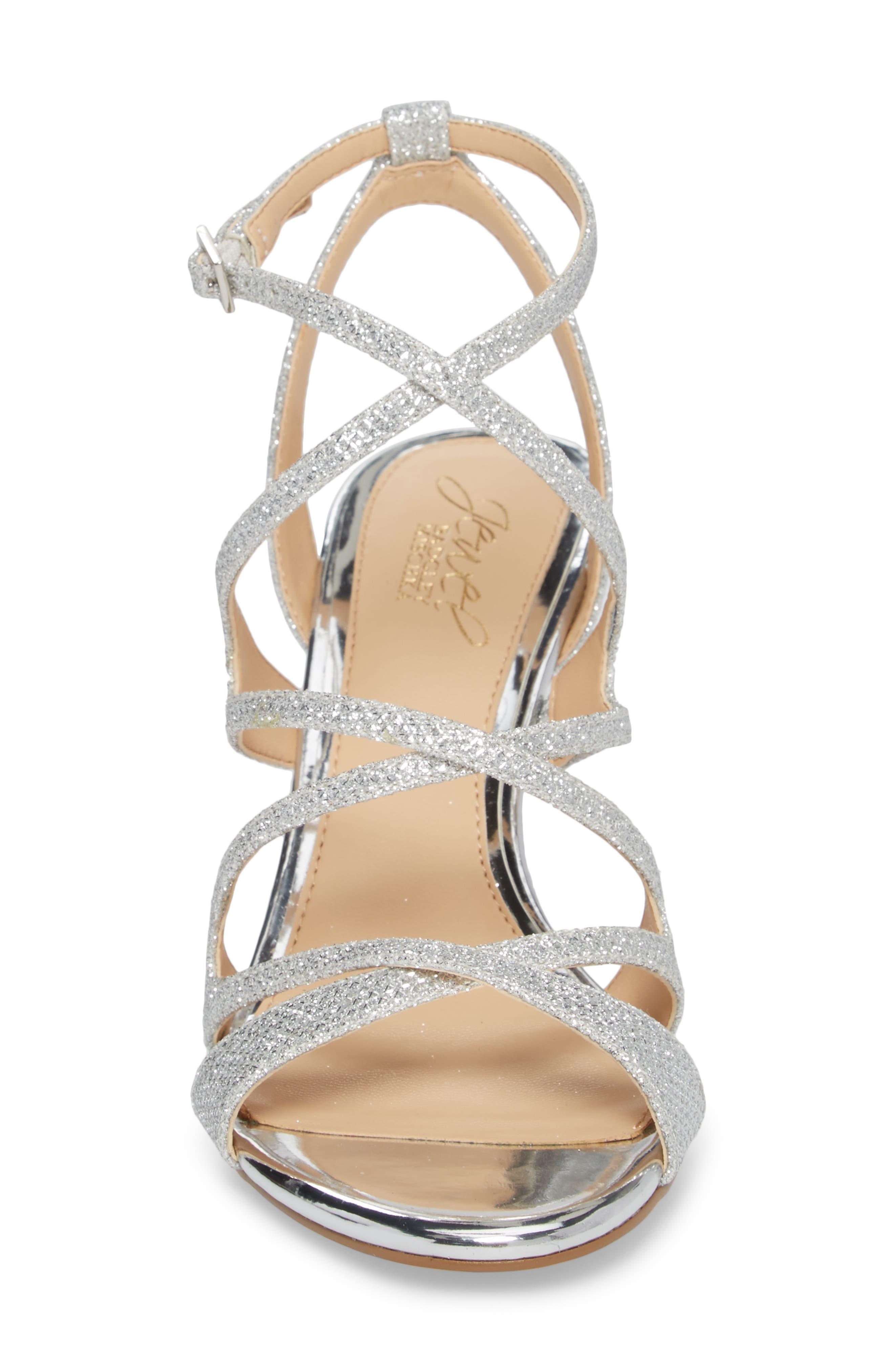 Tasha Glitter Sandal,                             Alternate thumbnail 4, color,                             043