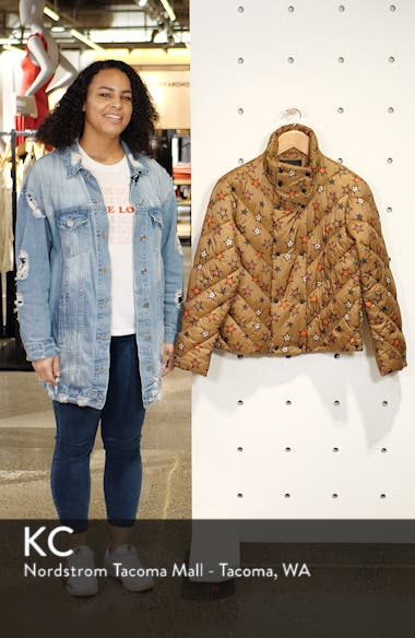 Star Quilted Crop Jacket, sales video thumbnail