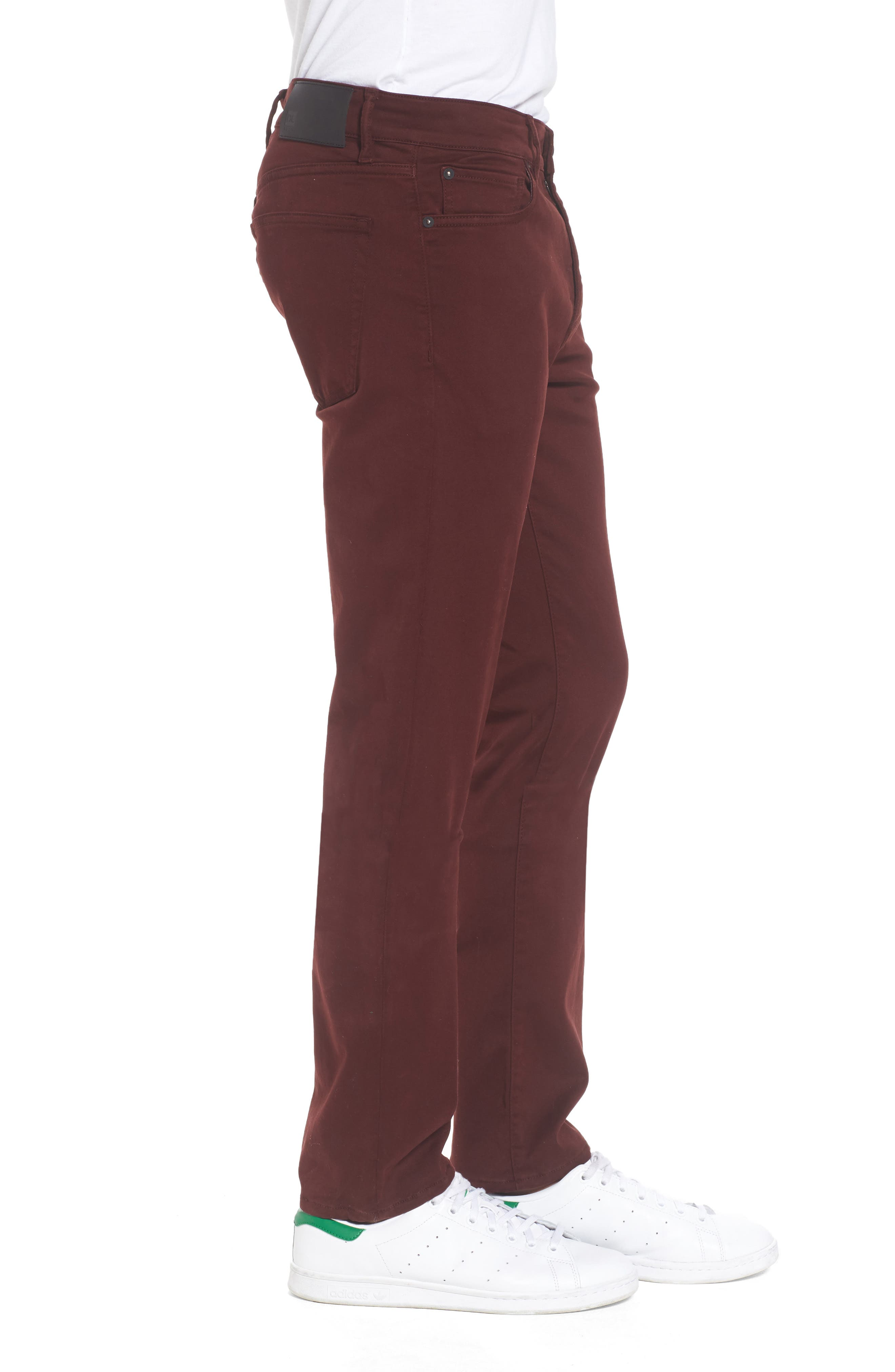 Russell Slim Fit Sateen Twill Pants,                             Alternate thumbnail 33, color,