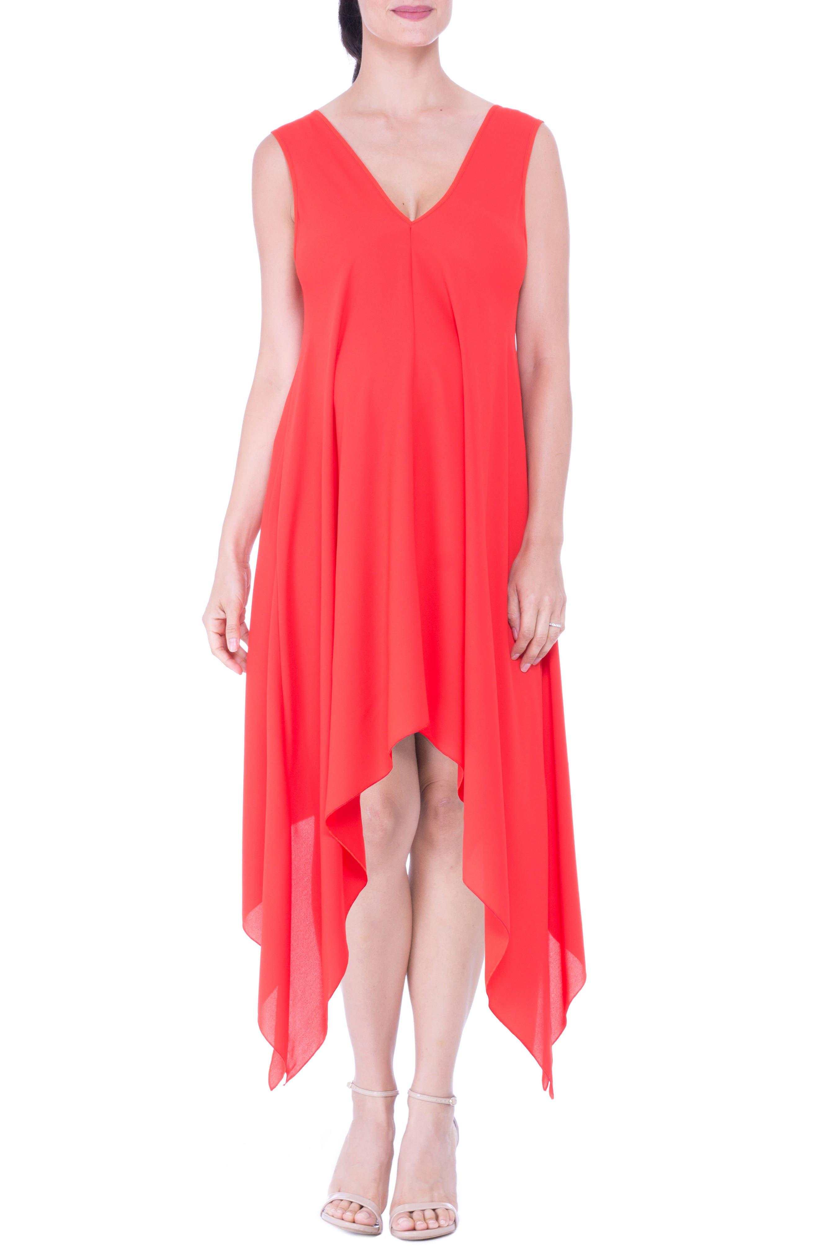Handkerchief Hem Maternity Dress,                         Main,                         color, 607