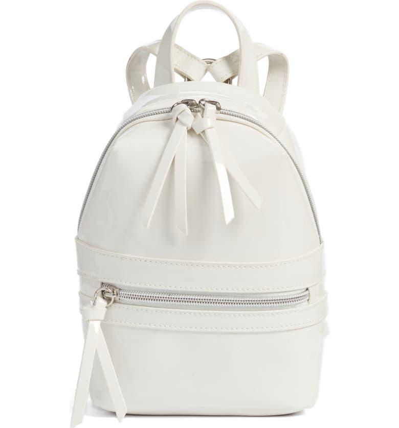 3b2155575b4c BP. Faux Patent Leather Mini Backpack