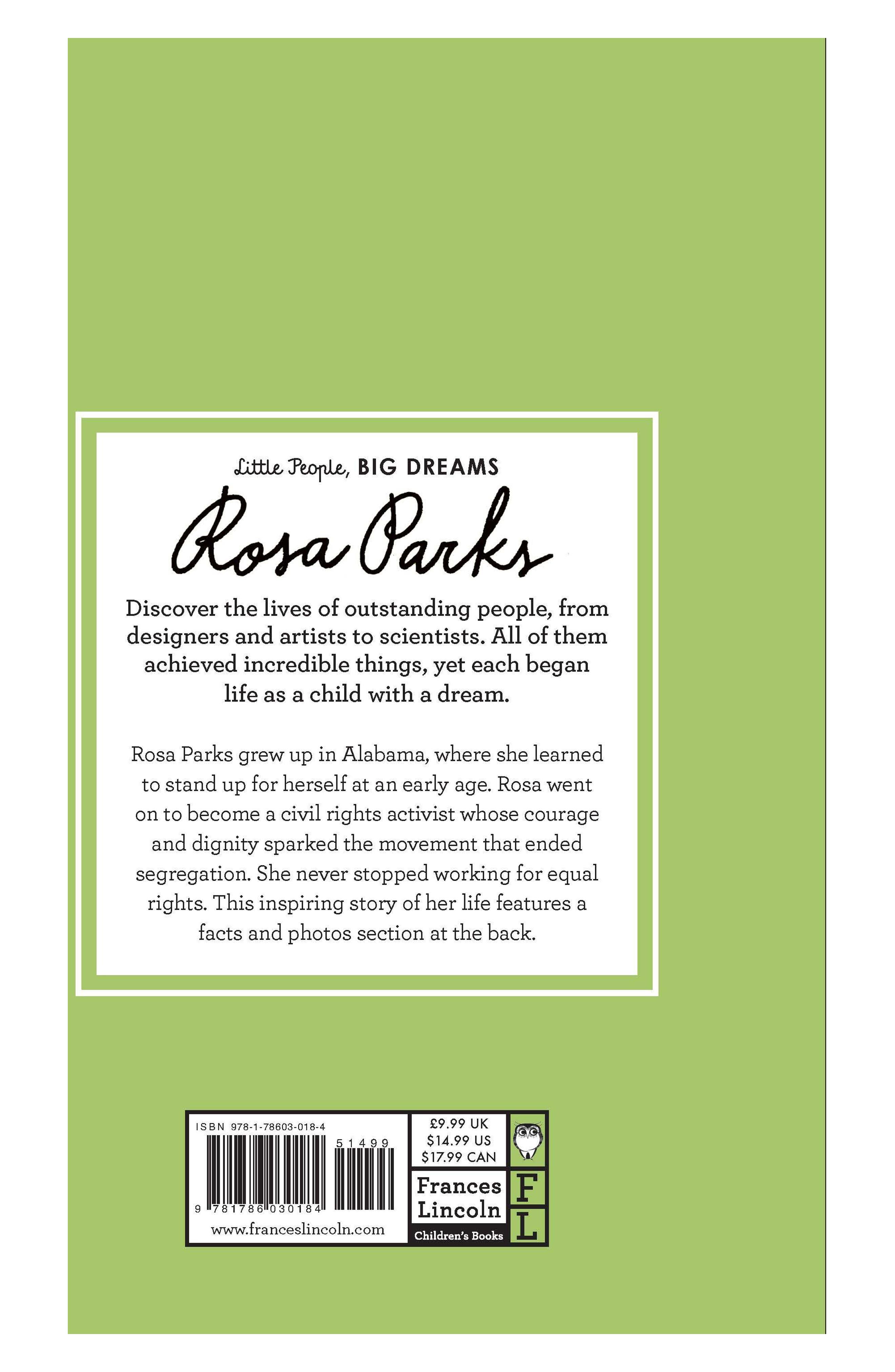 'Little People, Big Dreams: Rosa Parks' Book,                             Alternate thumbnail 3, color,