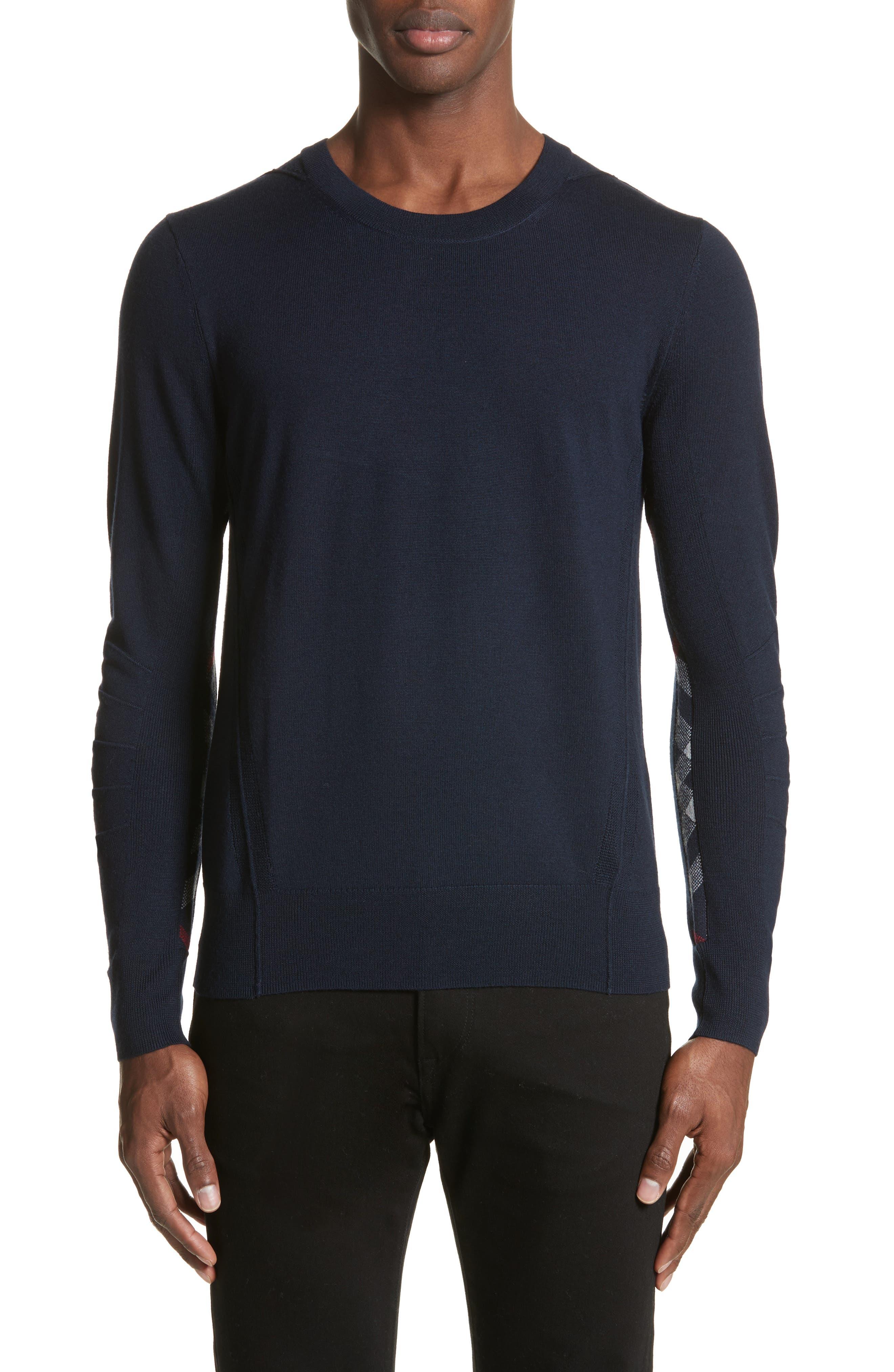 Carter Merino Wool Crewneck Sweater,                             Main thumbnail 3, color,