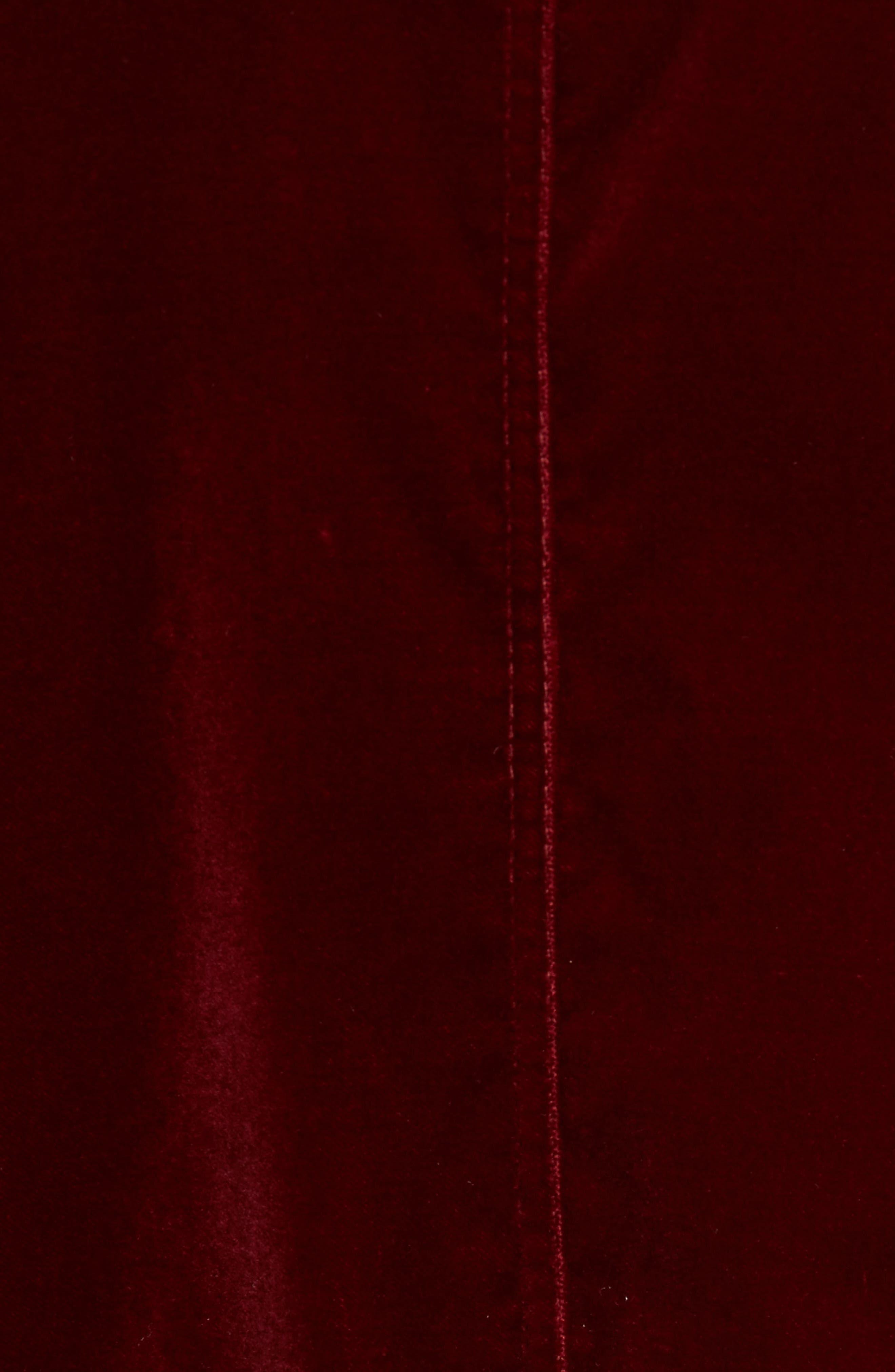 Bitrel Velvet Bomber Jacket,                             Alternate thumbnail 12, color,