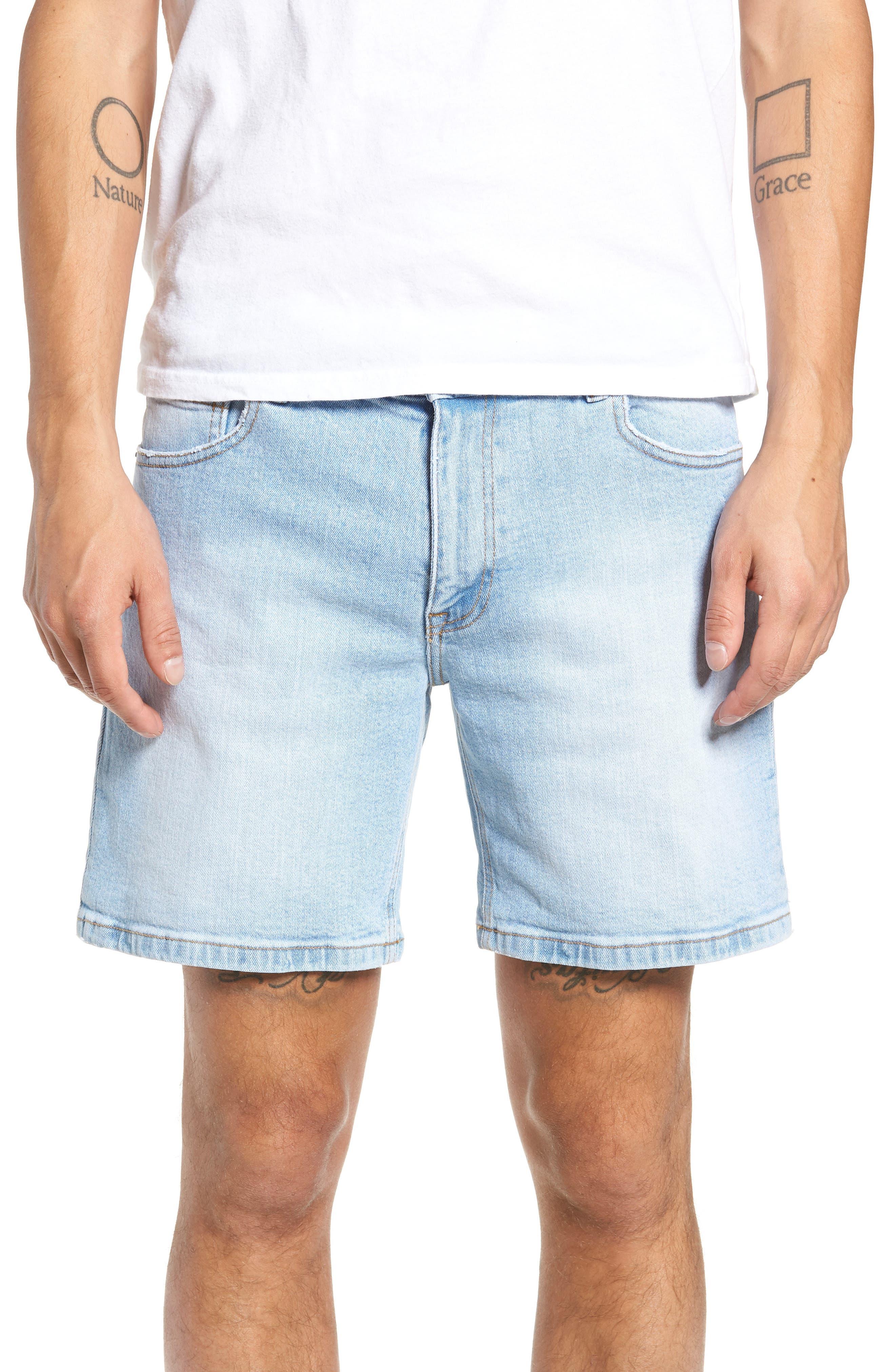 Dr. Denim Jeansmaker Denim Shorts,                         Main,                         color, 400