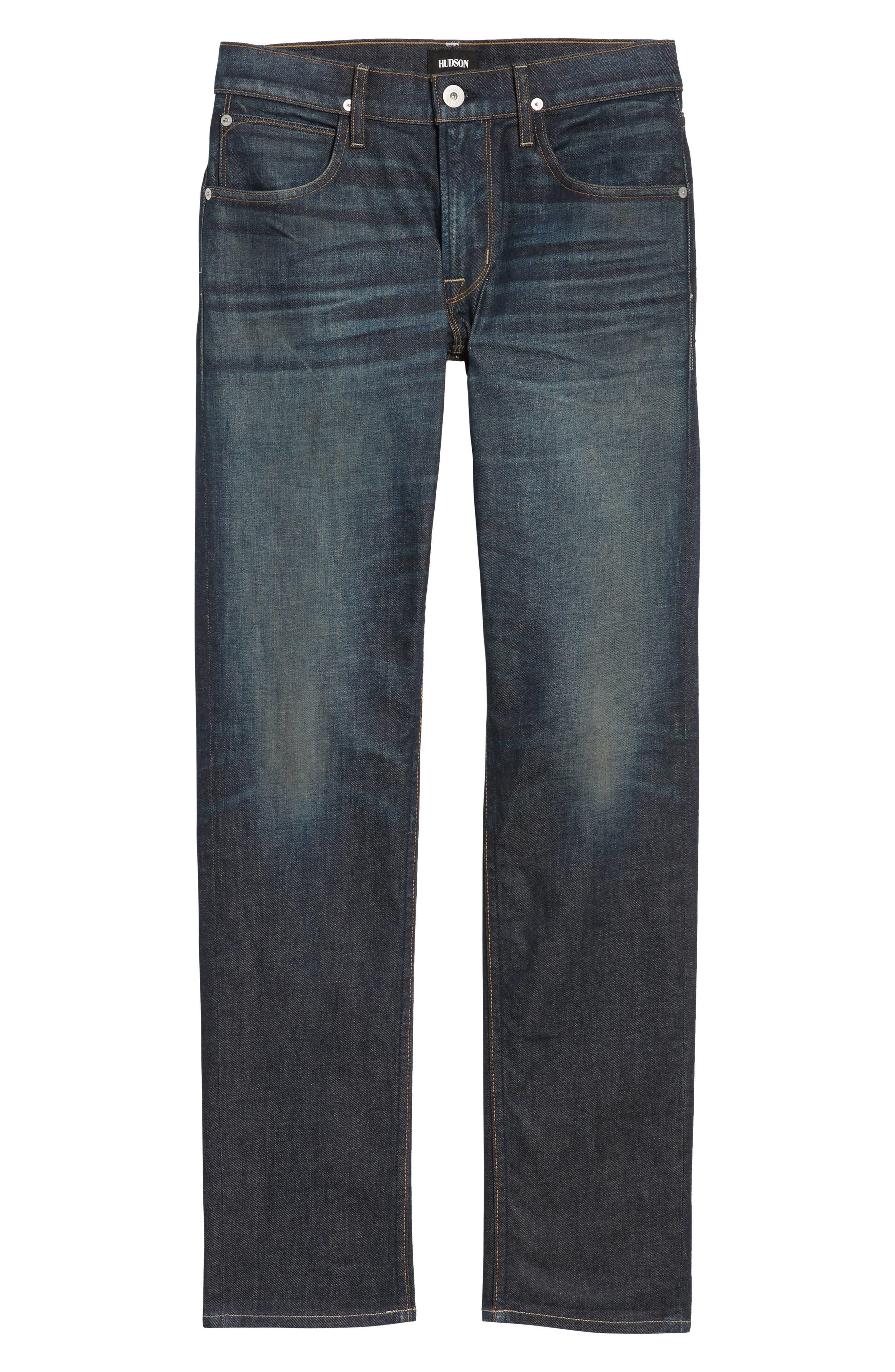 Blake Slim Fit Jeans,                             Alternate thumbnail 6, color,                             420