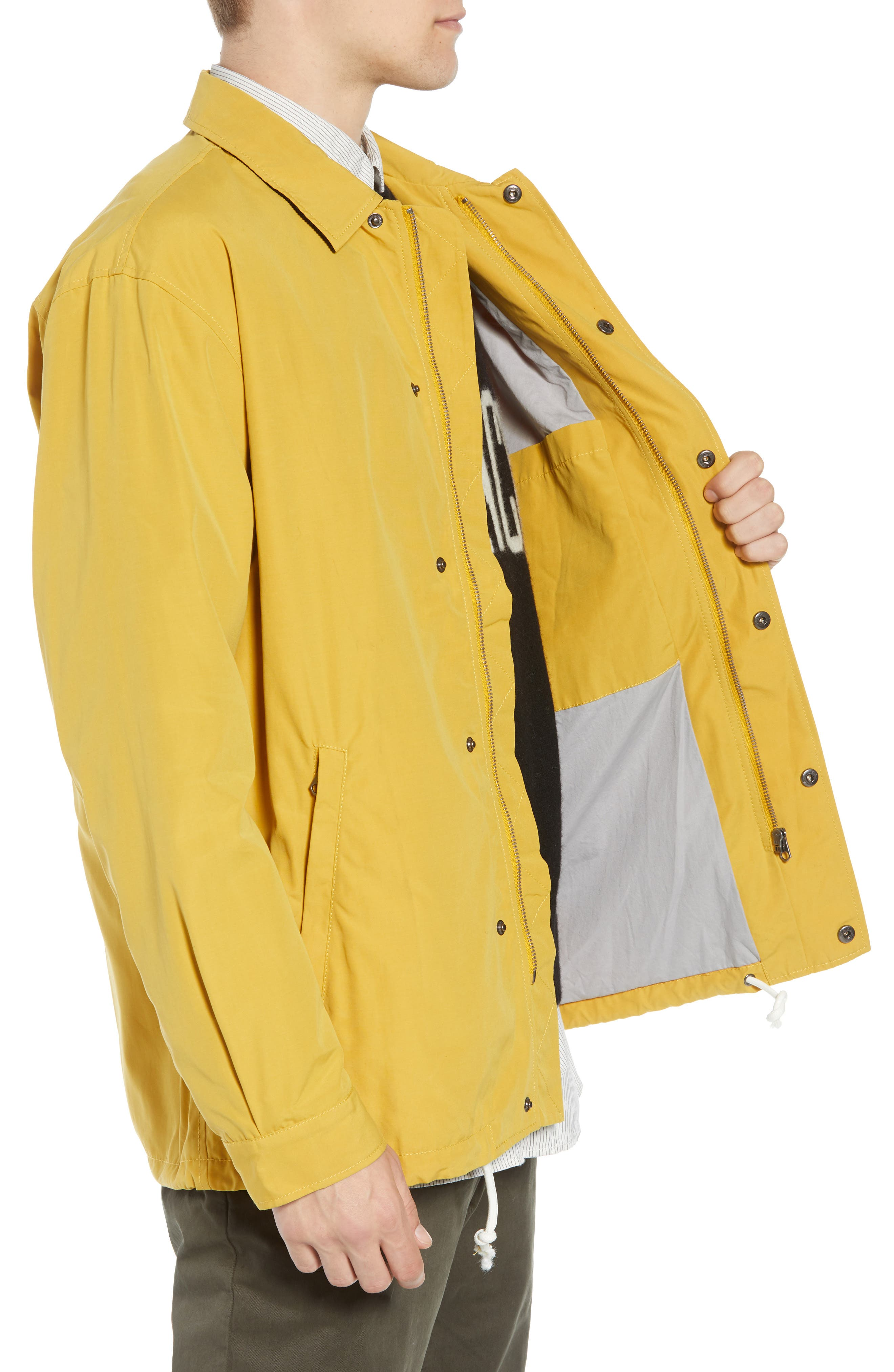 FRENCH CONNECTION,                             Waxed Coach's Jacket,                             Alternate thumbnail 3, color,                             700