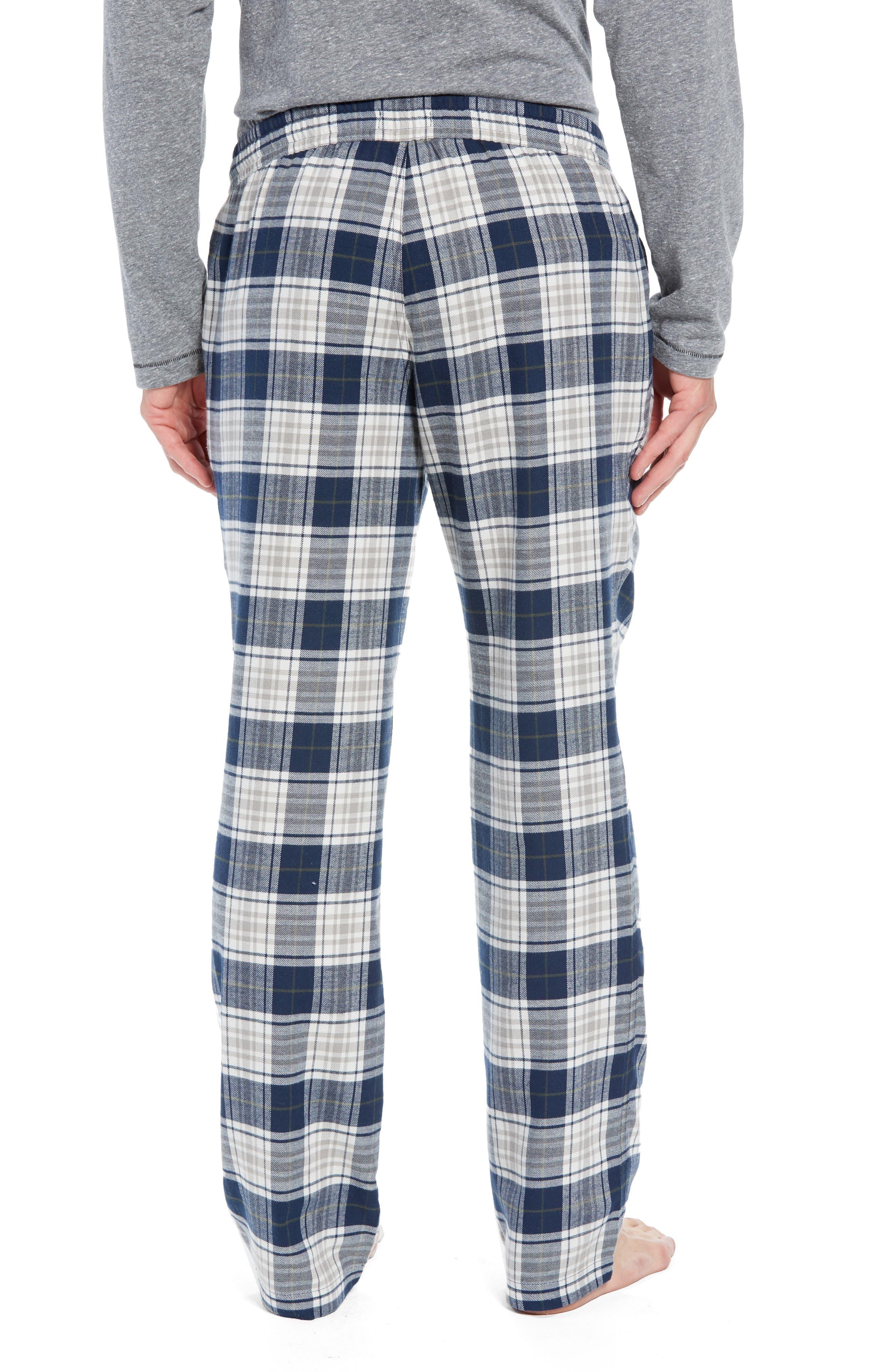 Steiner Pajama Set,                             Alternate thumbnail 2, color,                             NAVY/ GREY HEATHER
