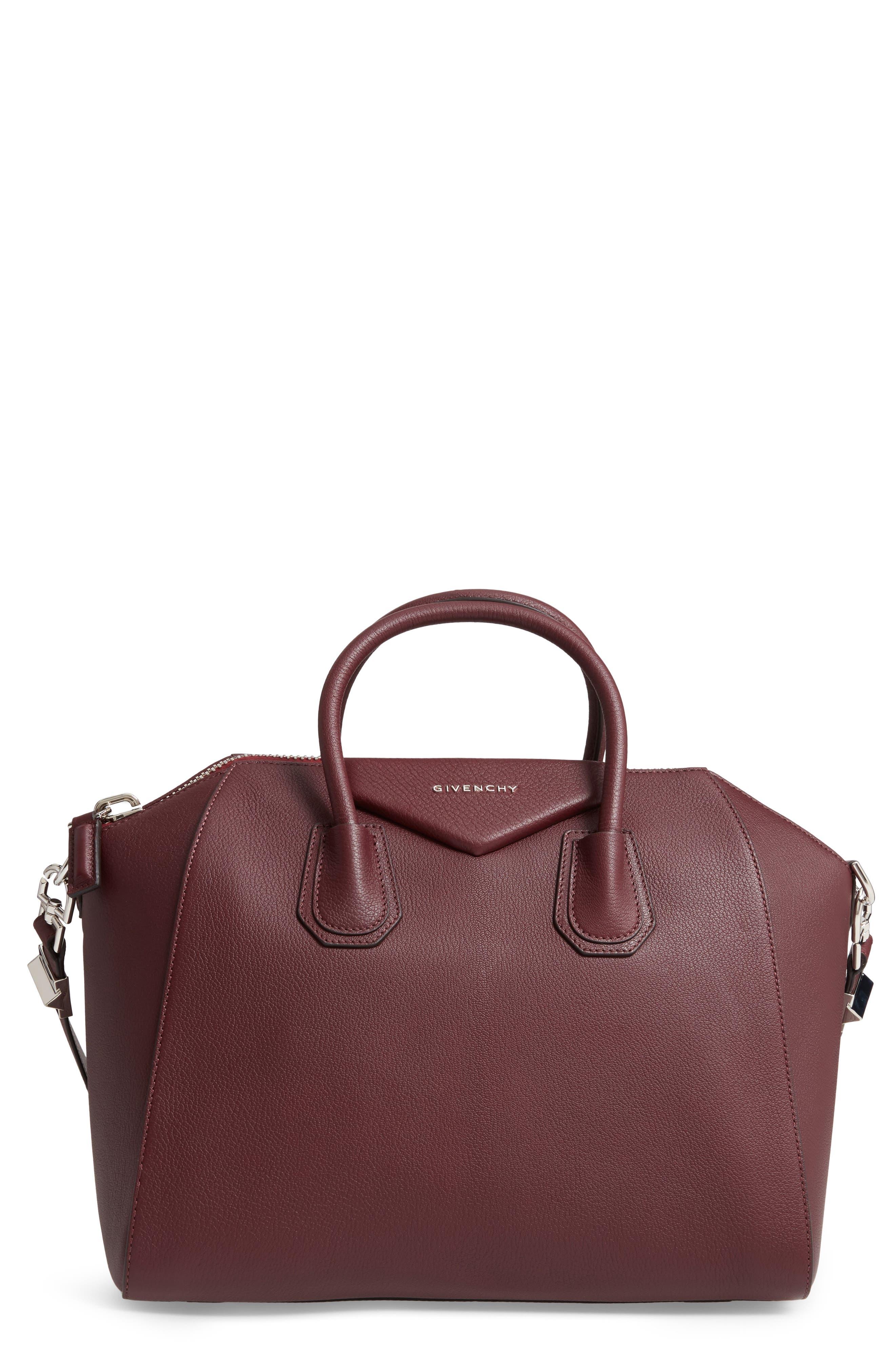 'medium Antigona' Sugar Leather Satchel by Givenchy