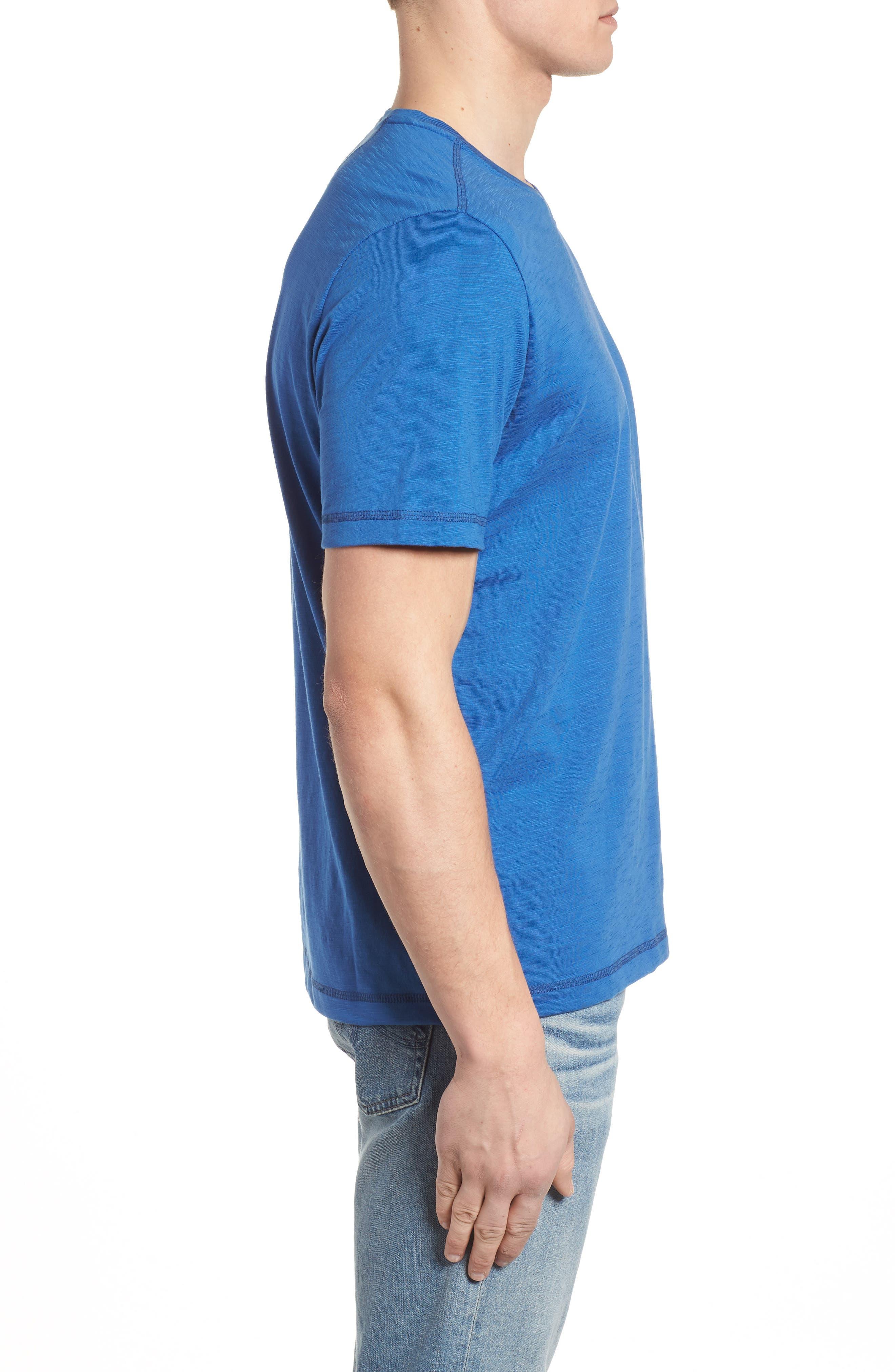 Portside Palms V-Neck T-Shirt,                             Alternate thumbnail 25, color,