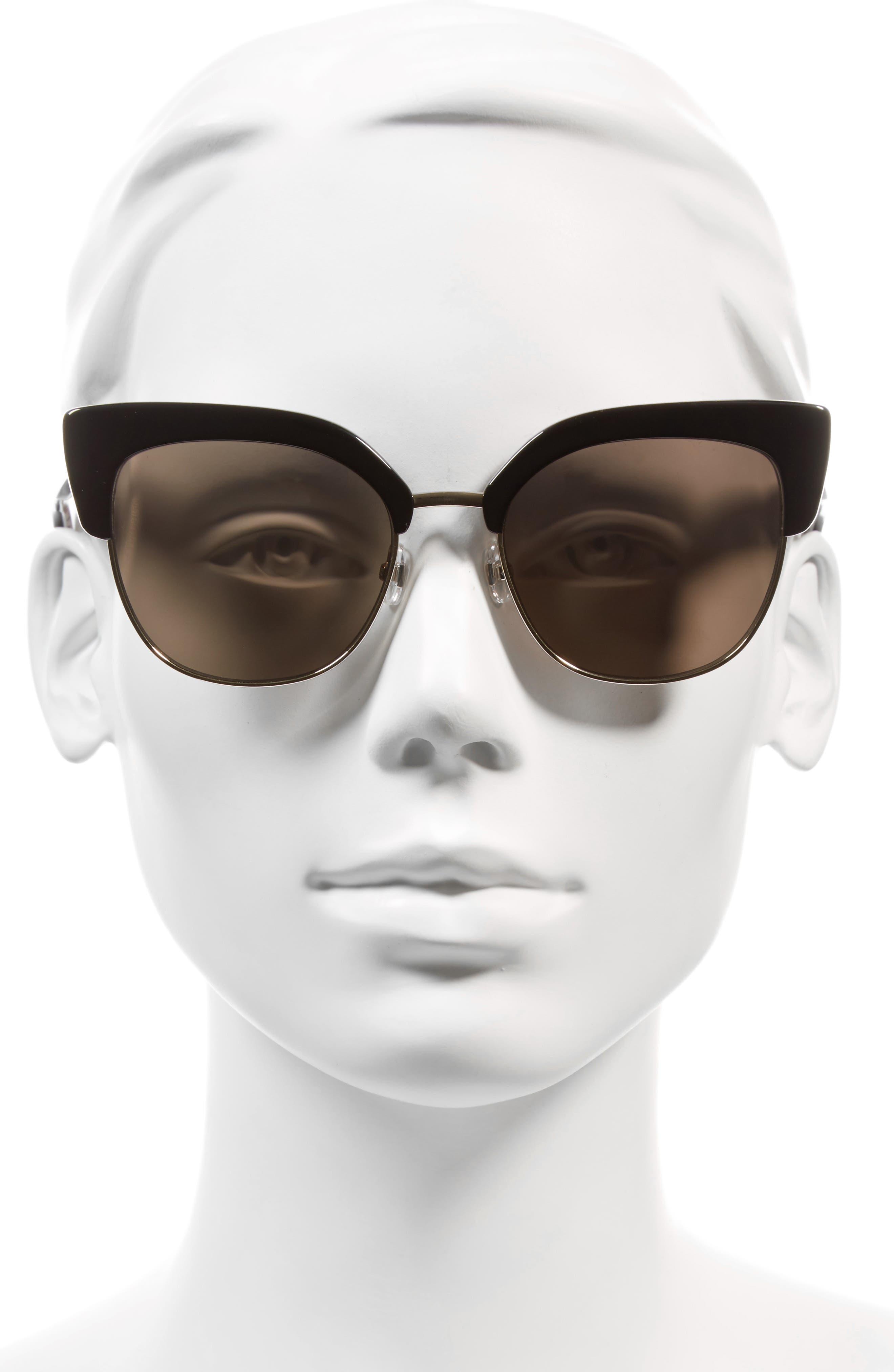 karri 53mm sunglasses,                             Alternate thumbnail 2, color,                             001