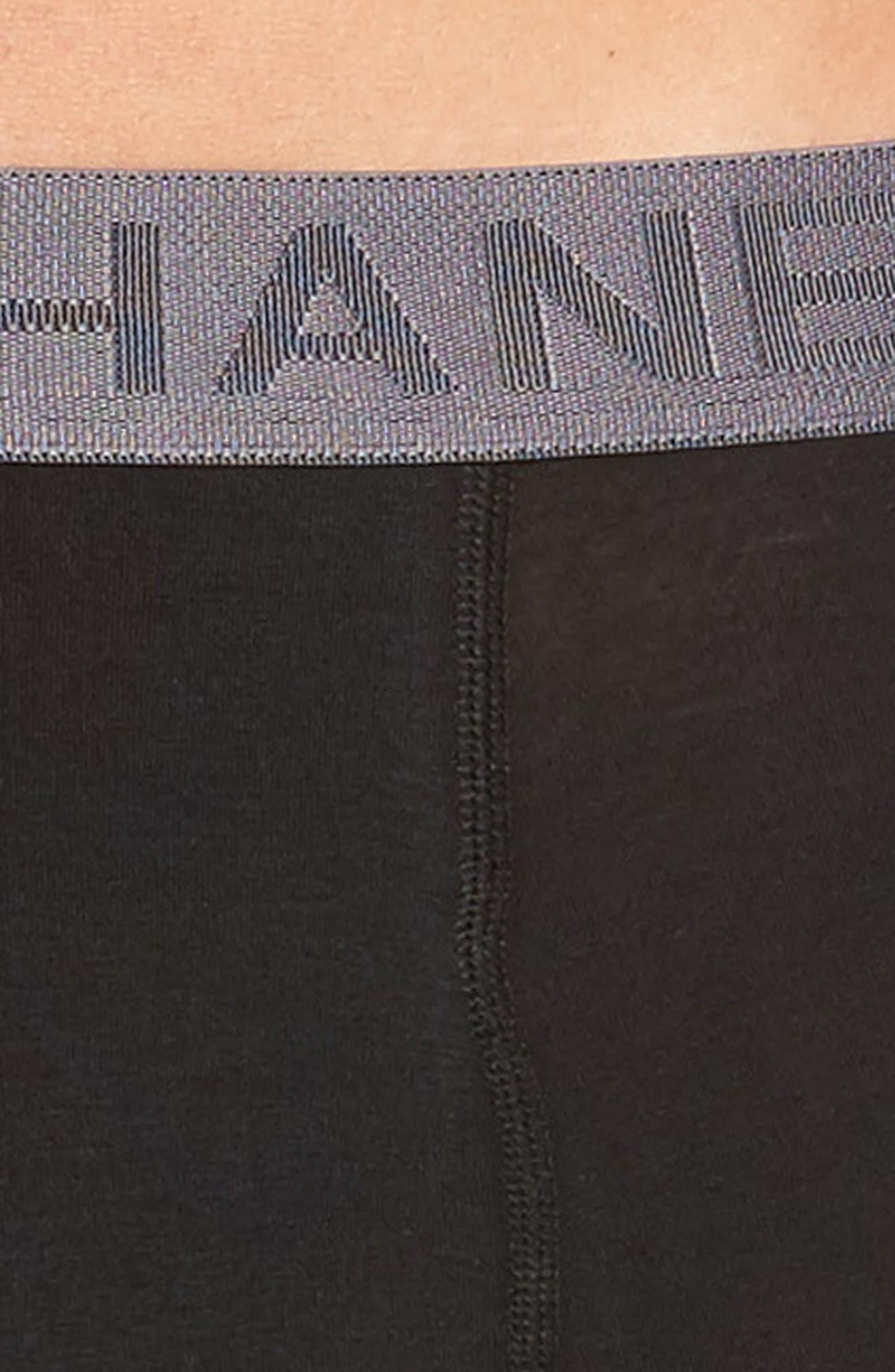 Luxury Essentials 3-Pack Boxer Briefs,                             Alternate thumbnail 5, color,                             001