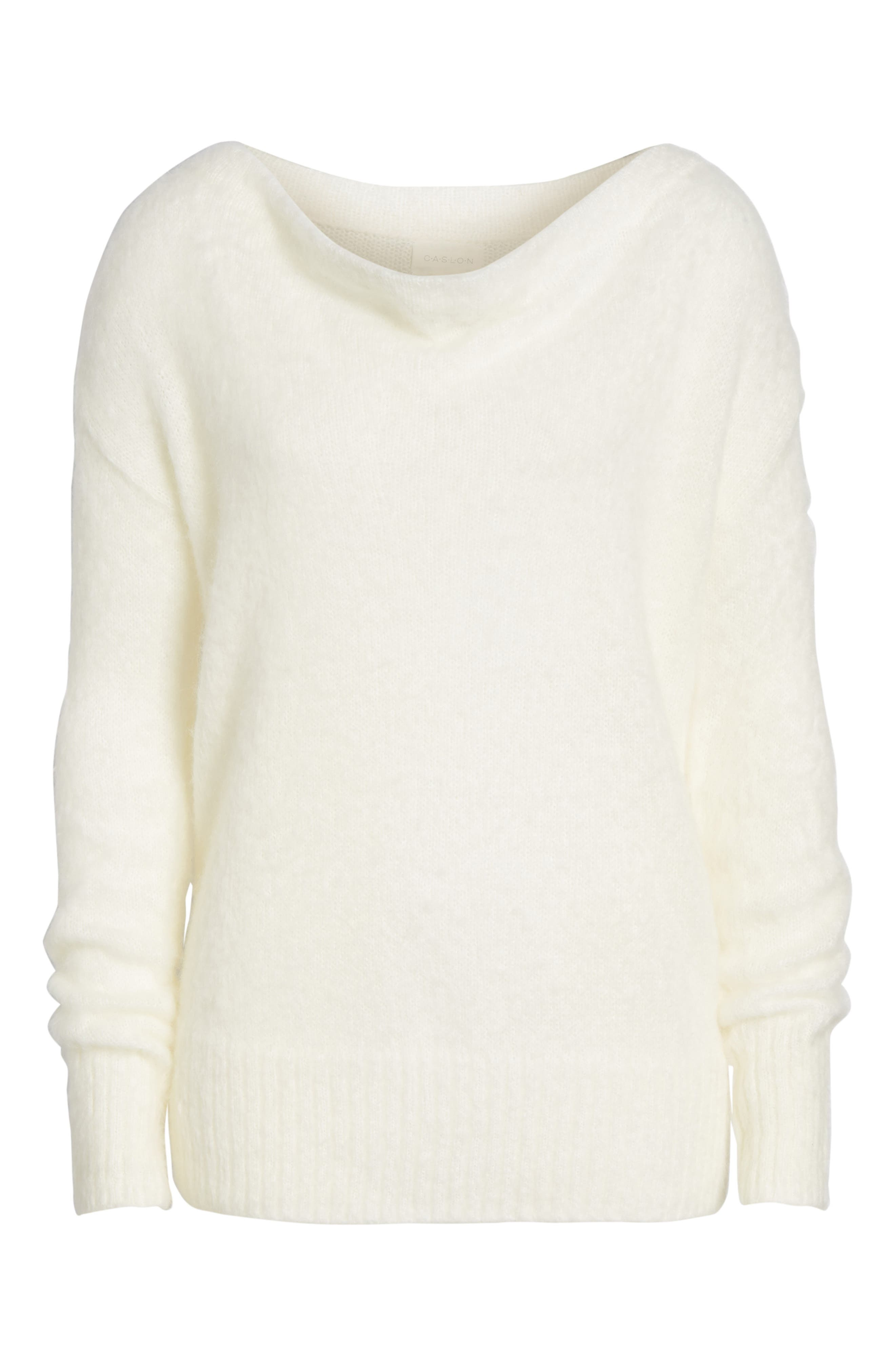 Long Sleeve Brushed Sweater,                             Alternate thumbnail 35, color,