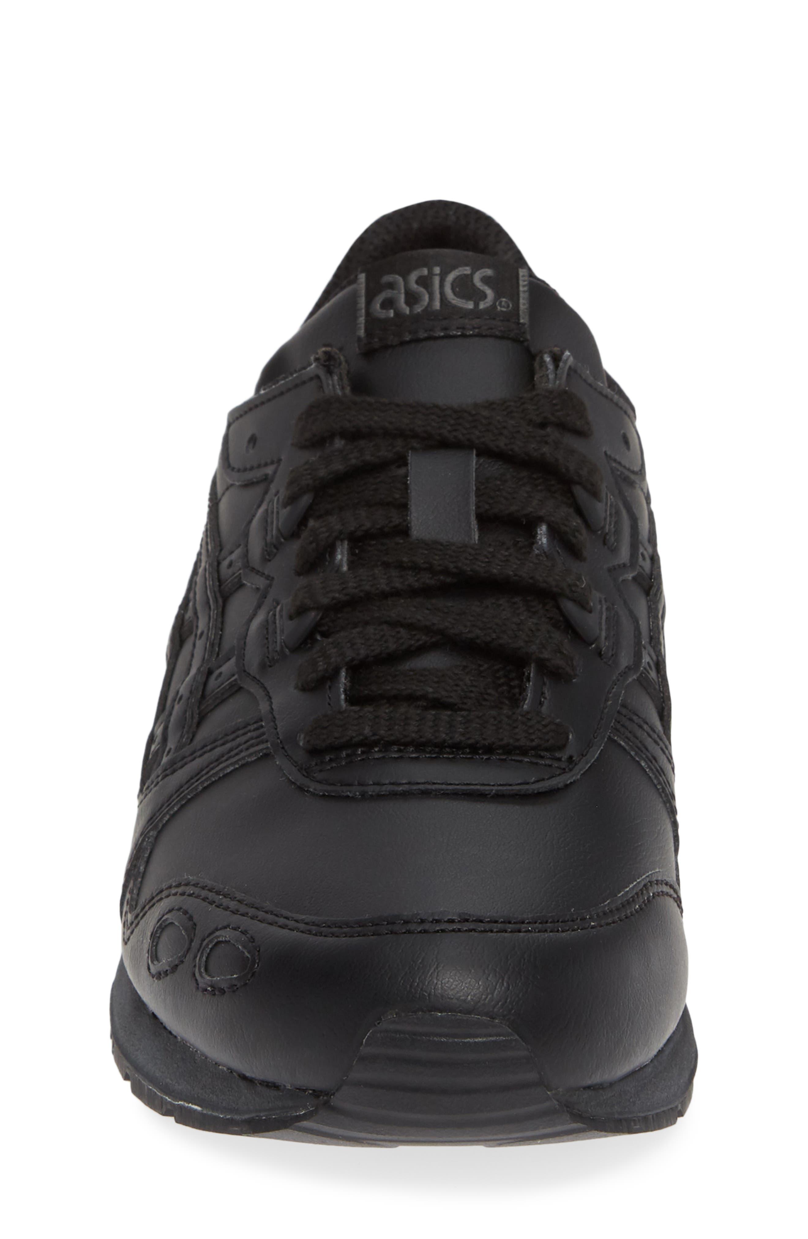 GEL-Lyte III Sneaker,                             Alternate thumbnail 4, color,                             BLACK/ BLACK