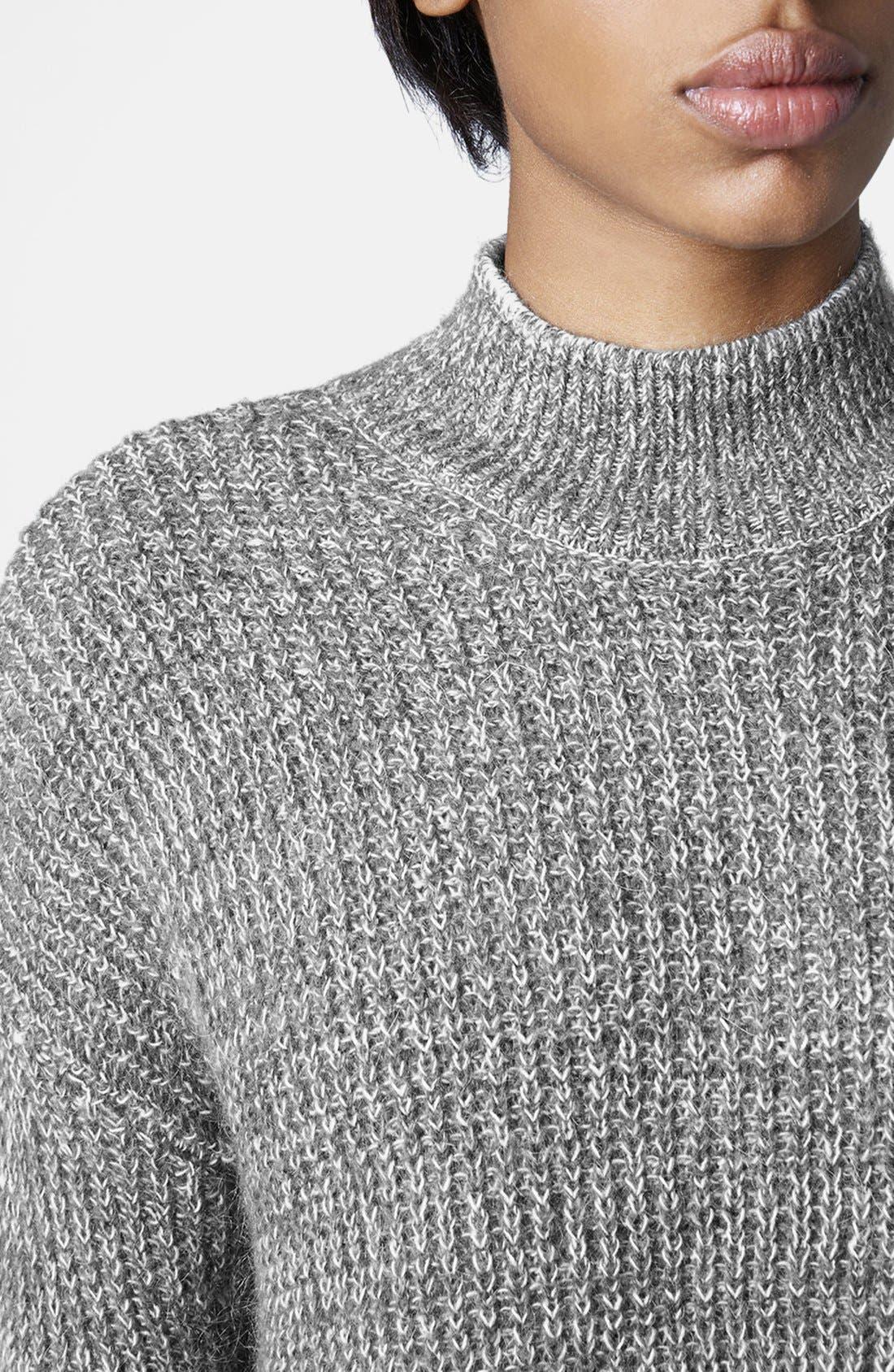 Sweater Dress,                             Alternate thumbnail 3, color,                             020