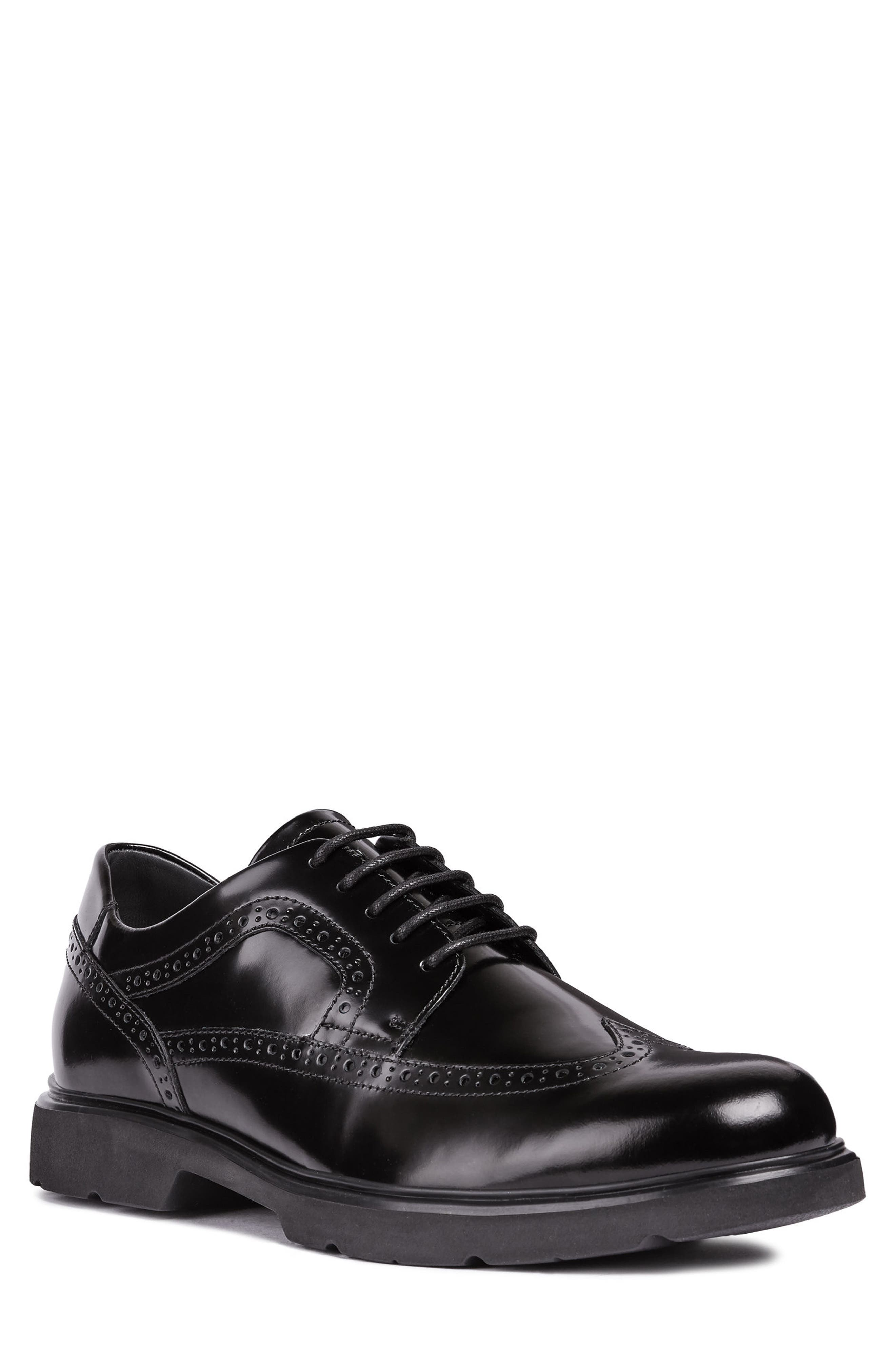 Arrall 1 Wingtip,                             Main thumbnail 1, color,                             BLACK LEATHER