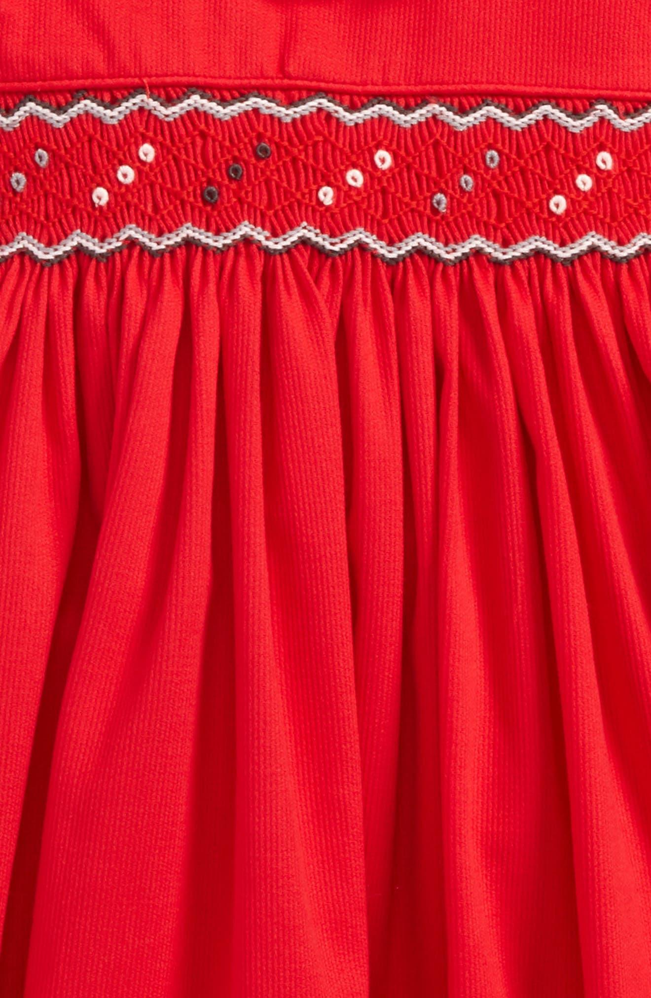 Smocked Dress,                             Alternate thumbnail 2, color,                             600