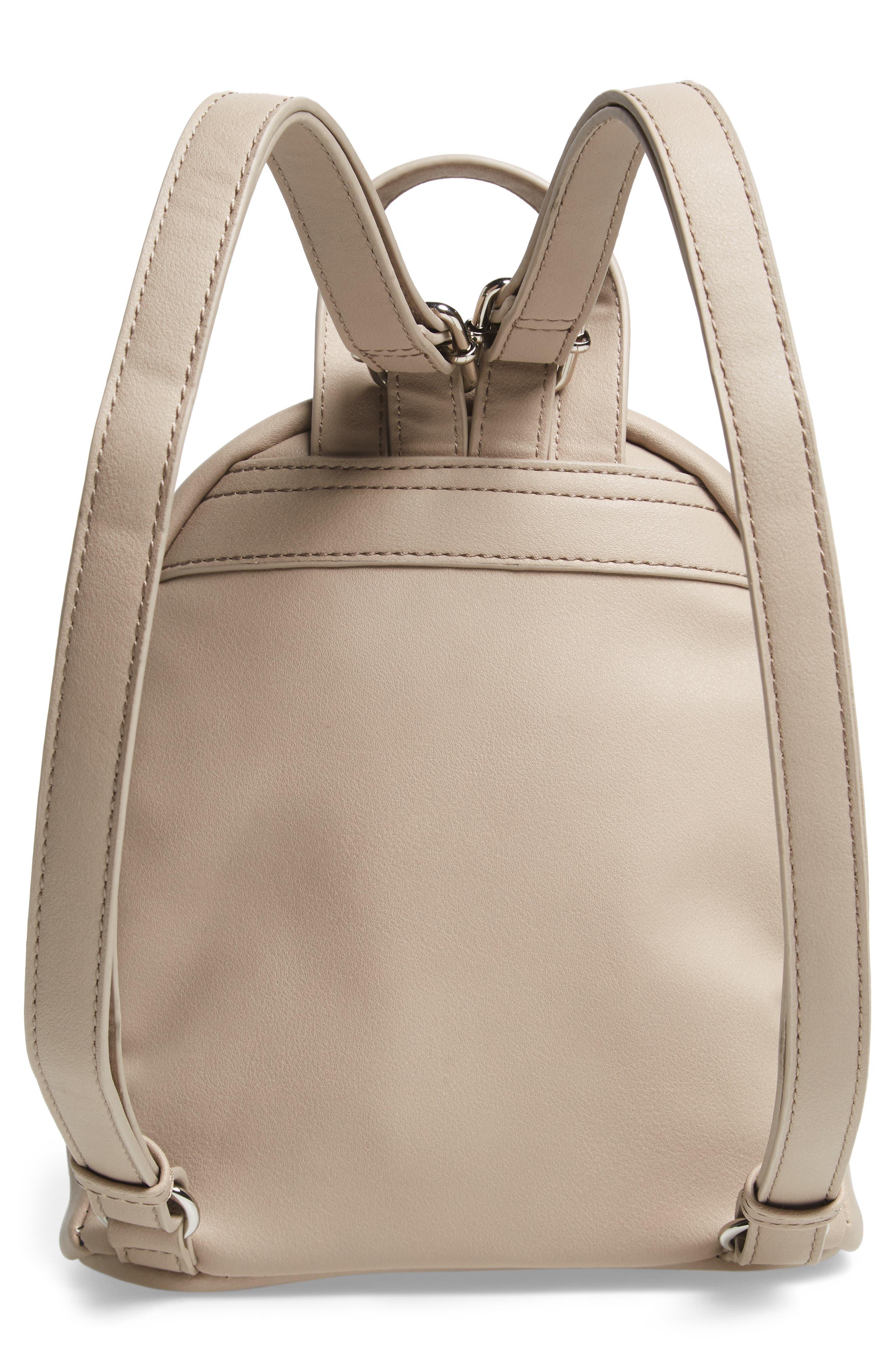 Faux Leather Mini Backpack,                             Alternate thumbnail 23, color,
