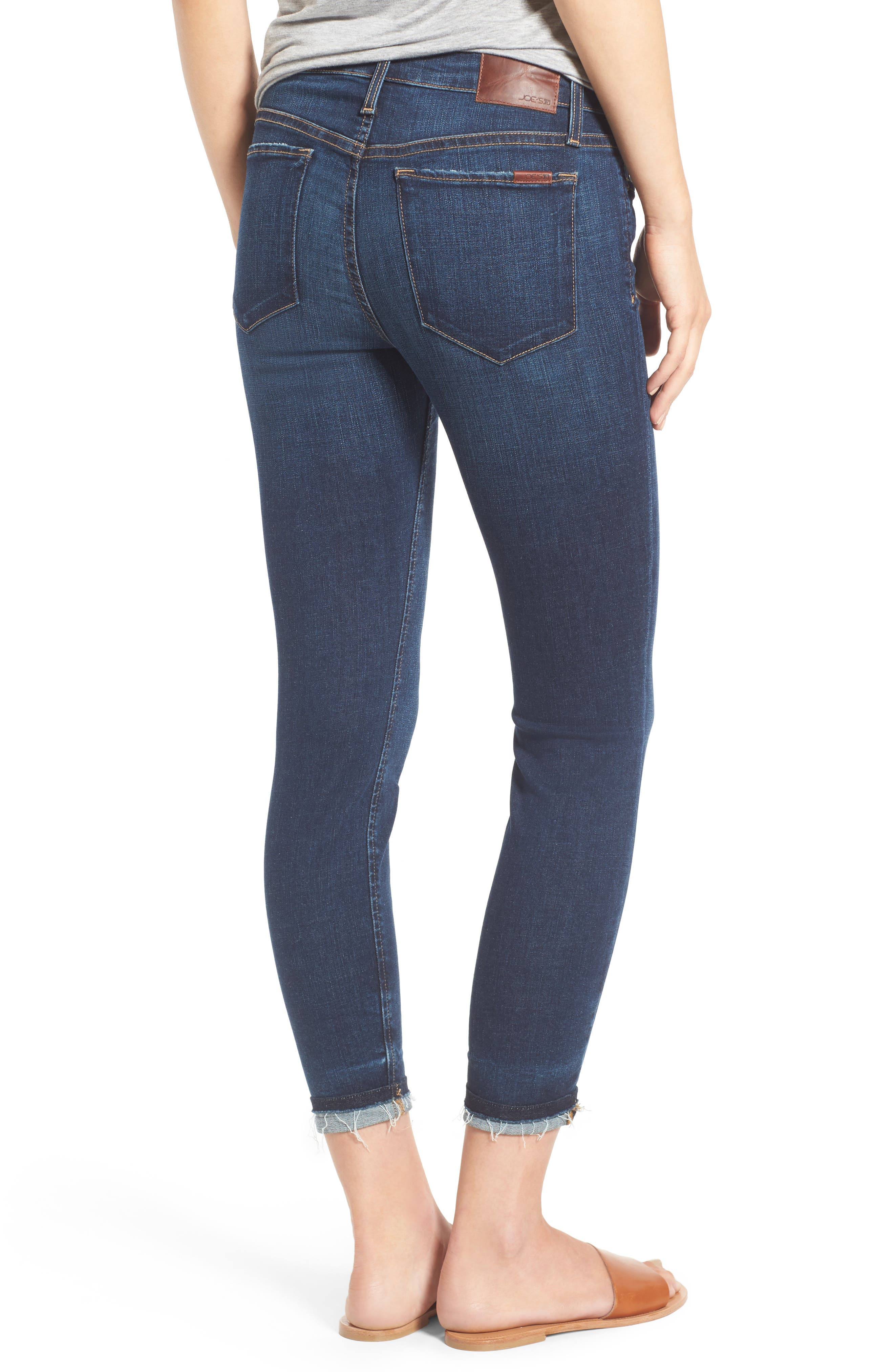 Markie High Rise Crop Skinny Jeans,                             Alternate thumbnail 2, color,