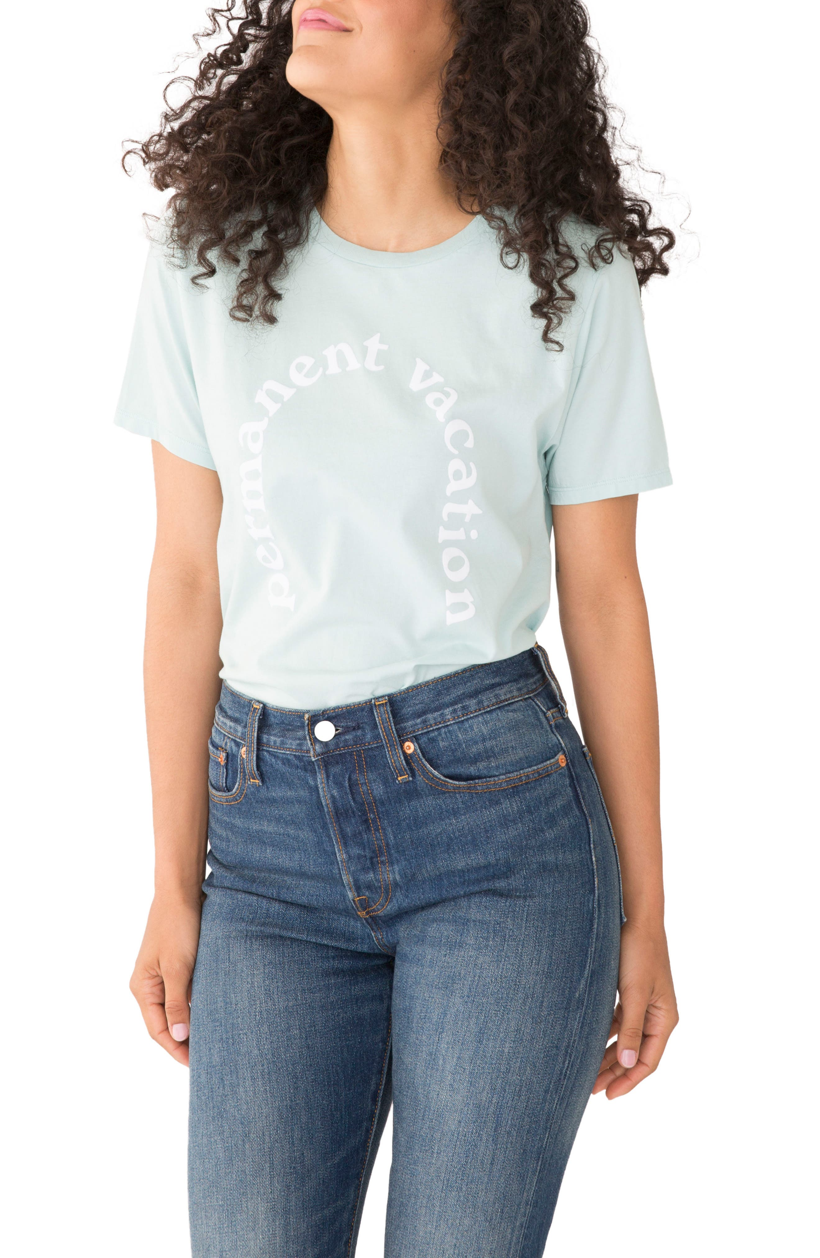 Permanent Vacation Classic Tee,                         Main,                         color,