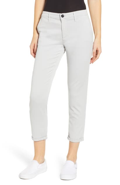 Ag Pants CADEN CROP TWILL TROUSERS