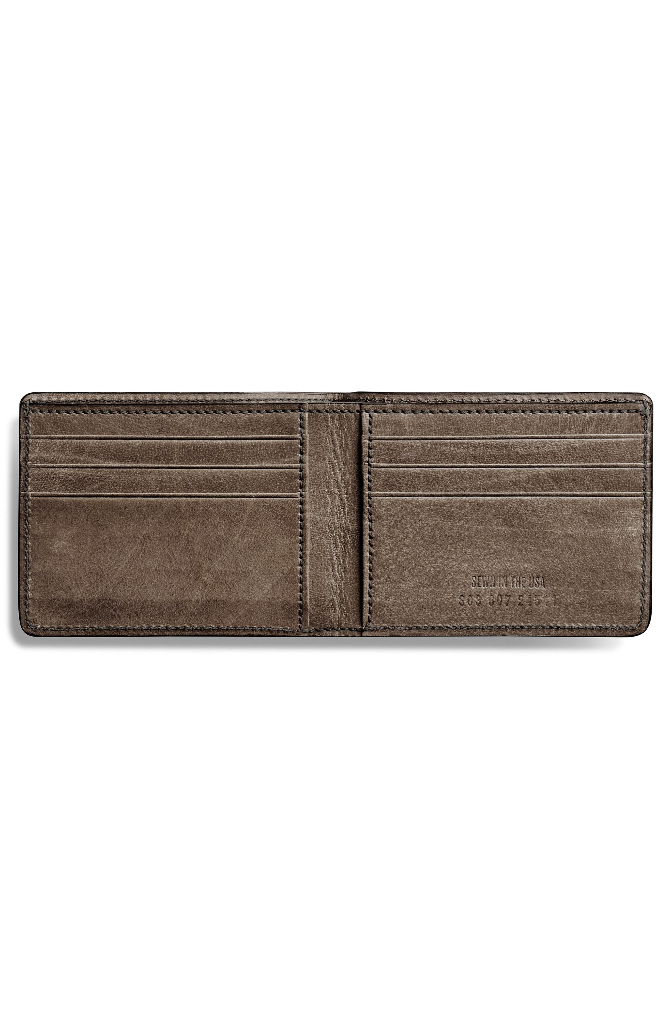 Outlaw Wallet,                             Alternate thumbnail 2, color,                             DARK GREY