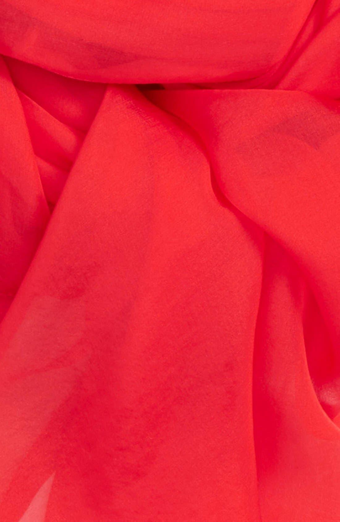 Satin Border Silk Wrap,                             Alternate thumbnail 50, color,