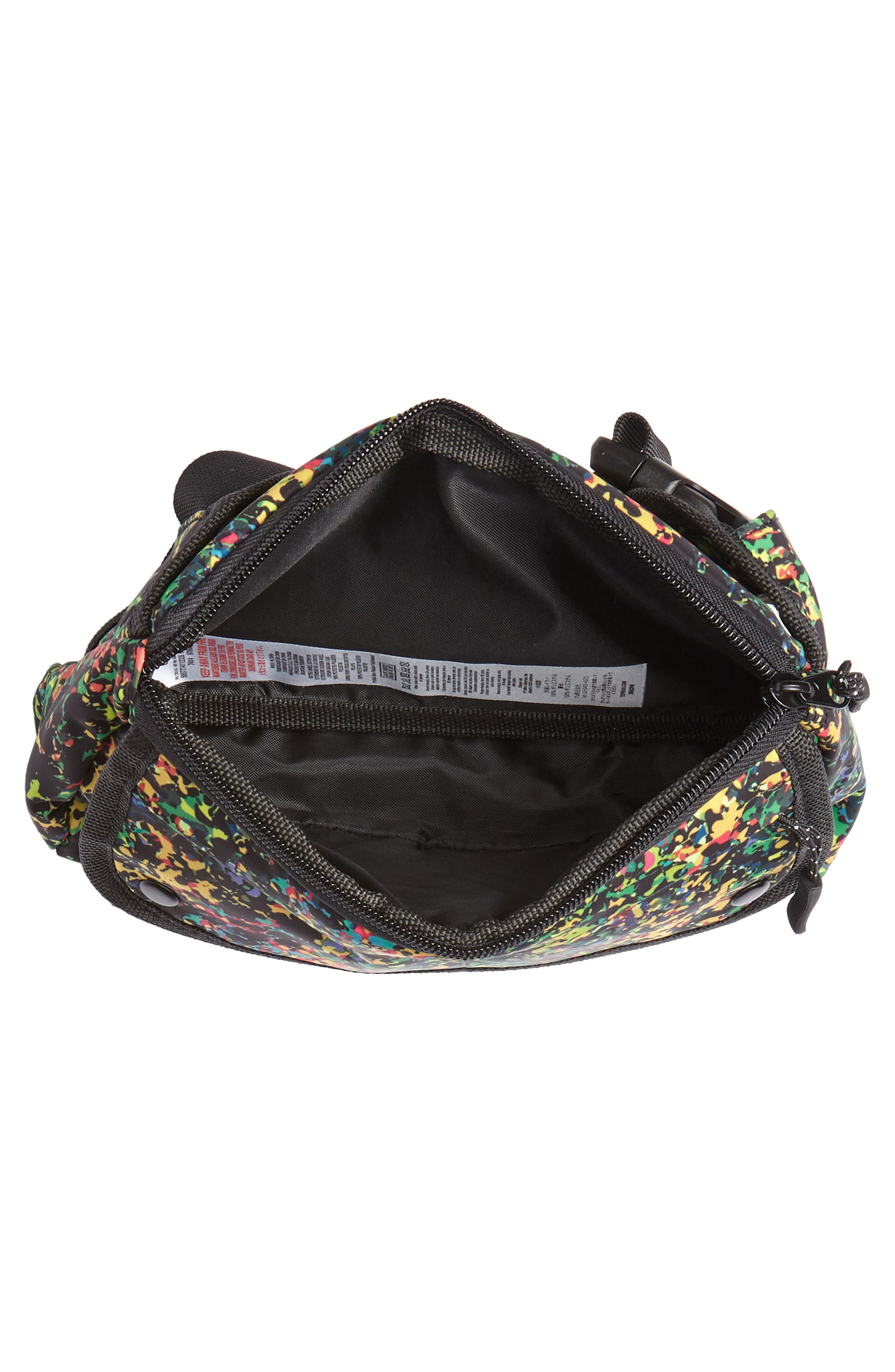 Sabre Crossbody Belt Bag,                             Alternate thumbnail 4, color,                             BLACK MULTI