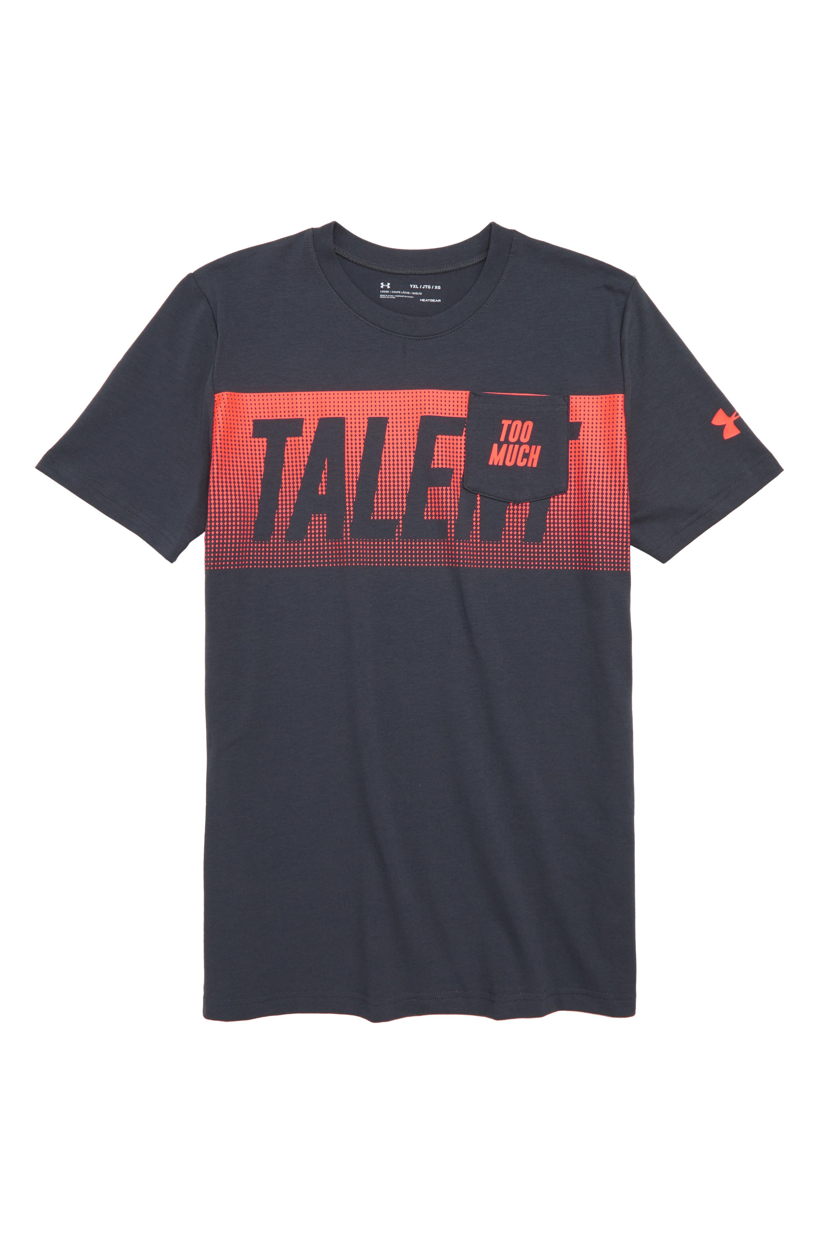 Too Much Talent T-Shirt,                             Main thumbnail 1, color,                             021