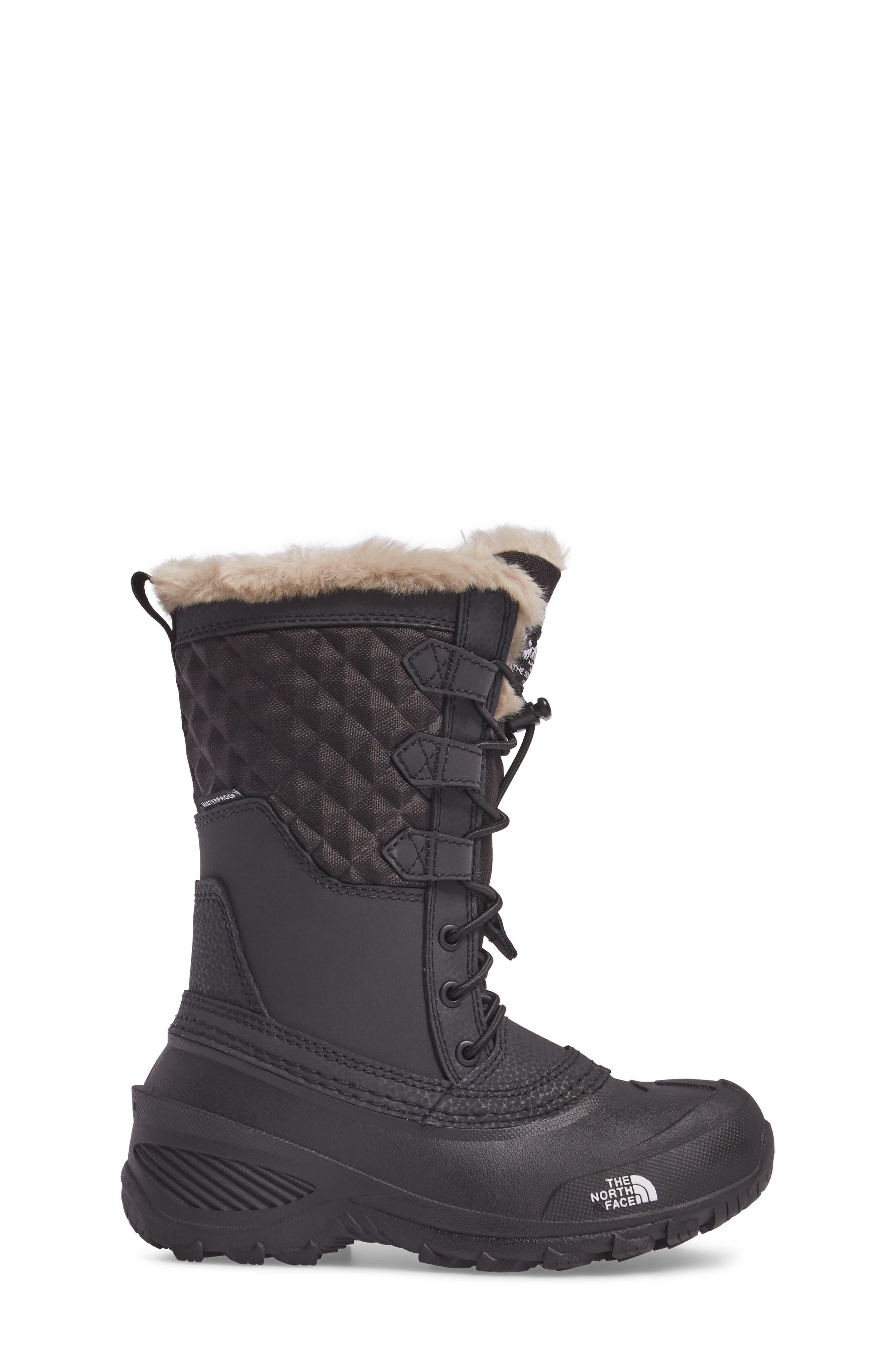 Shellista Lace III Faux Fur Waterproof Boot,                             Alternate thumbnail 7, color,