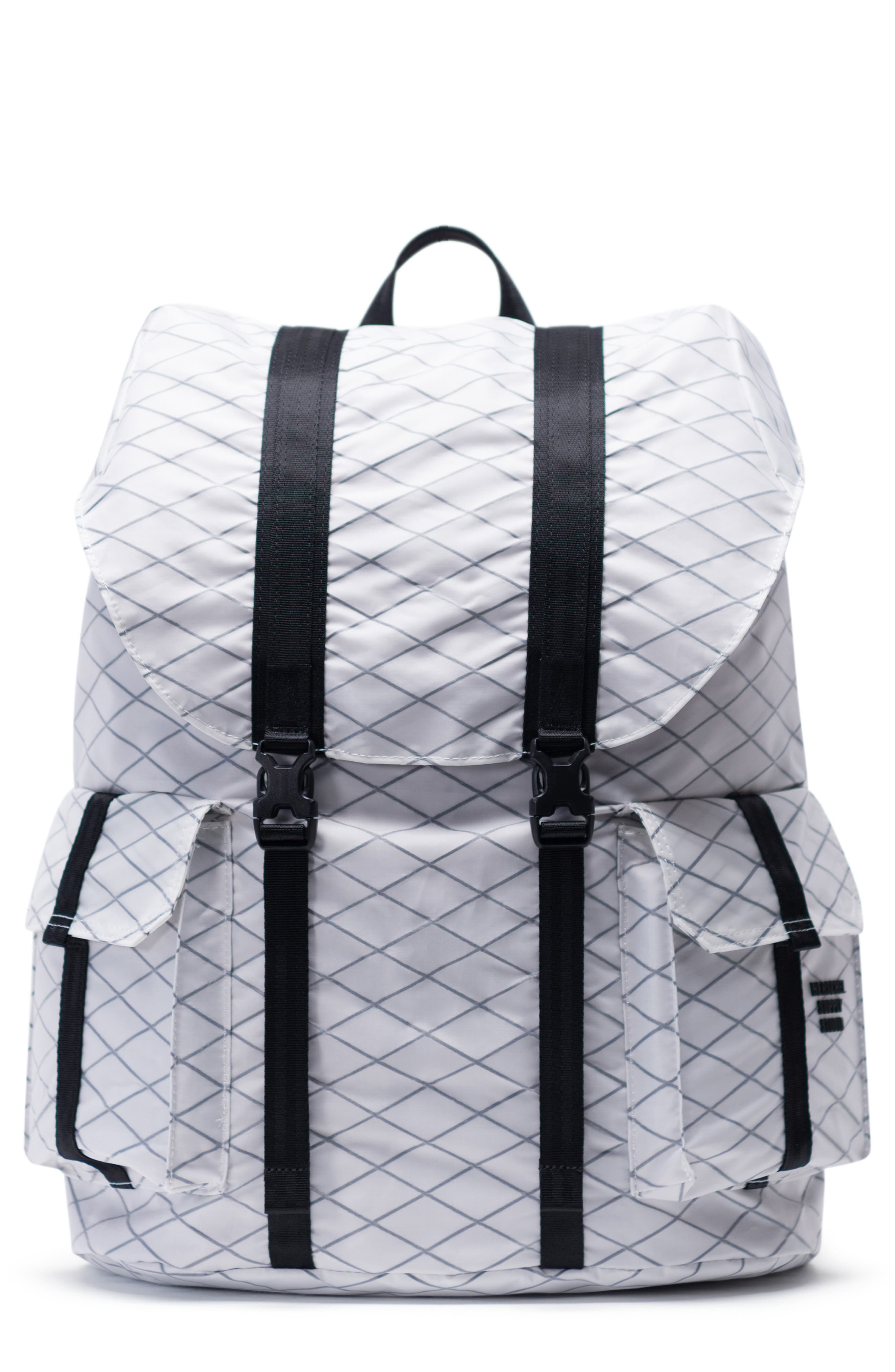 Dawson X-Large Studio Collection Backpack, Main, color, WHITE