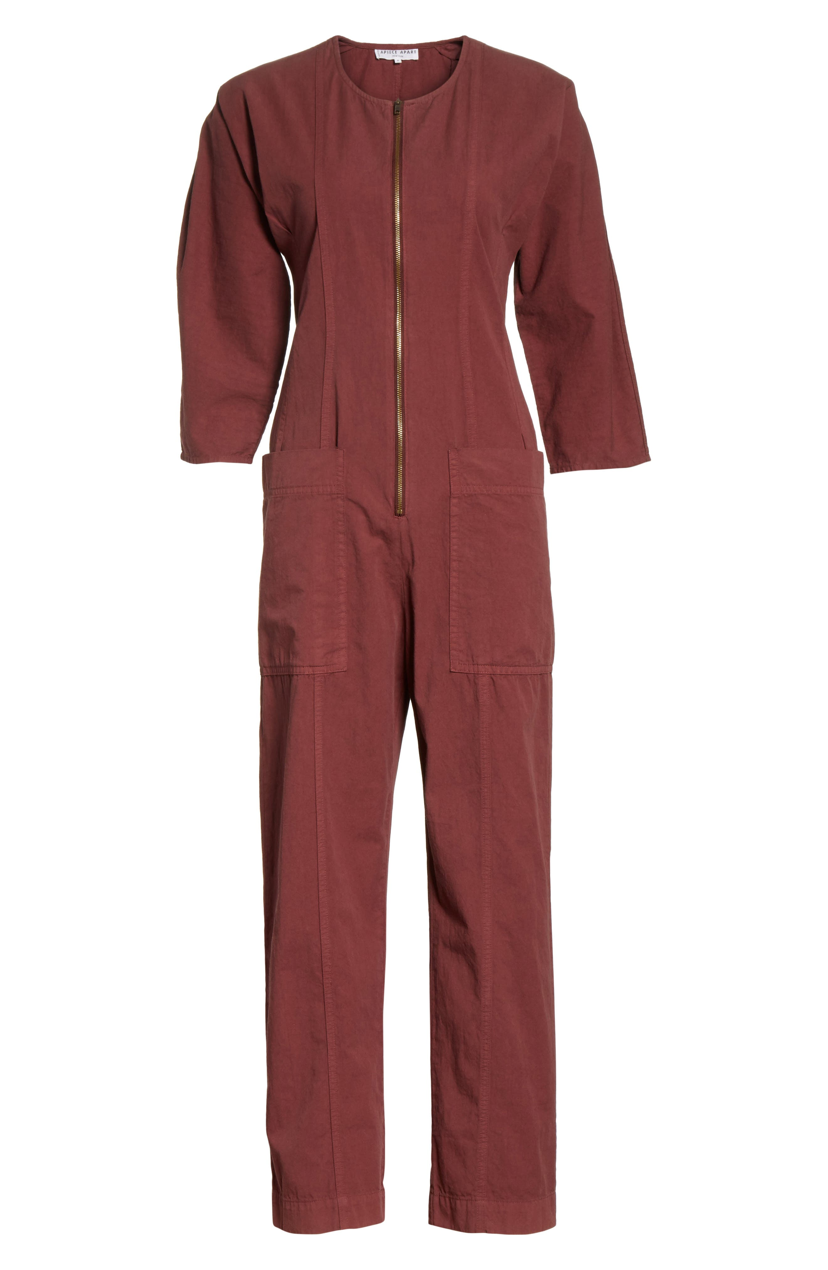 Flamethrower Zip Front Jumpsuit,                             Alternate thumbnail 6, color,                             205