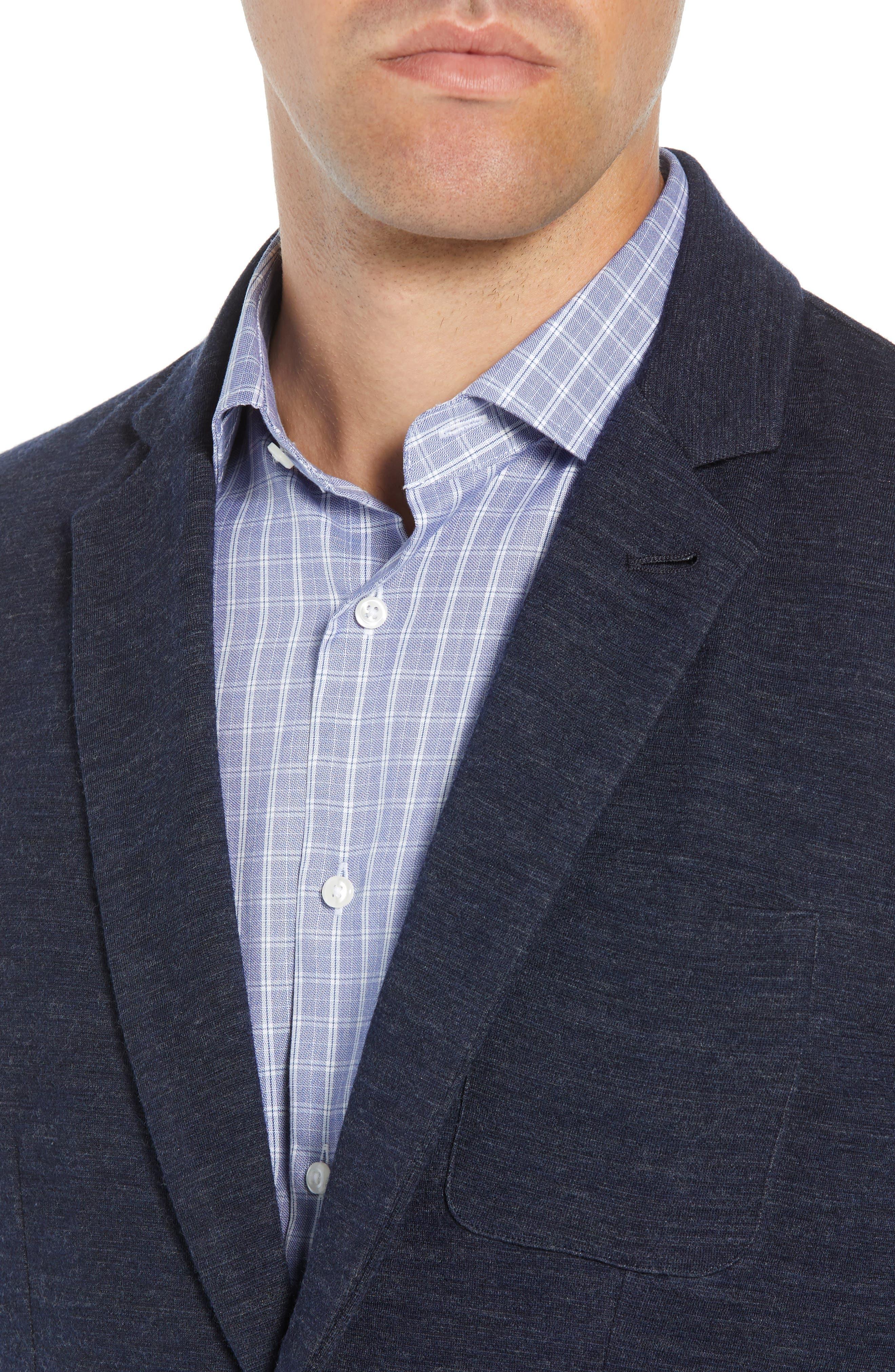 Granite Regular Fit Knit Sport Coat,                             Alternate thumbnail 4, color,                             410