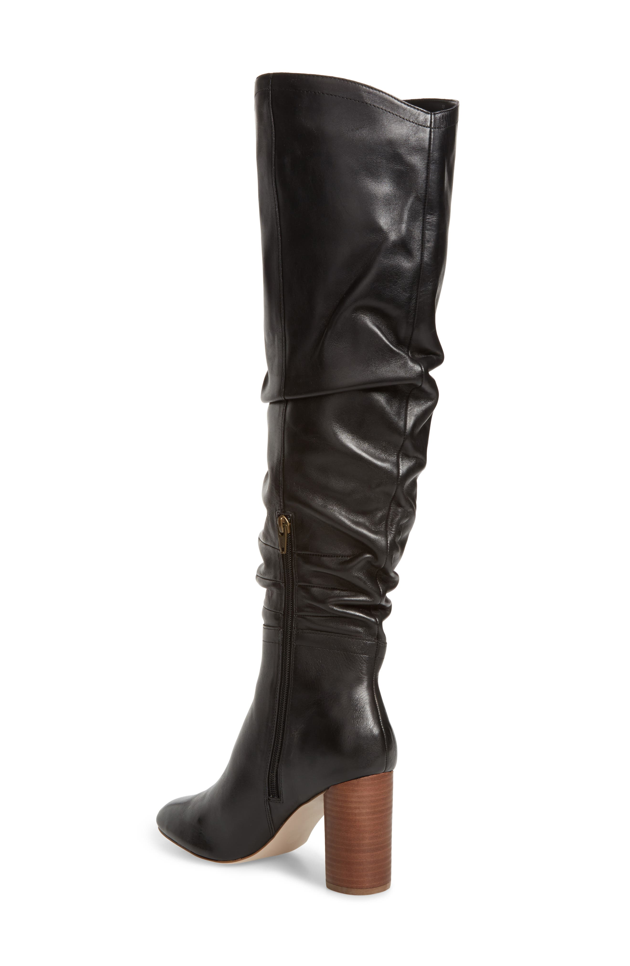 Bali Slouchy Over the Knee Boot,                             Alternate thumbnail 2, color,                             001