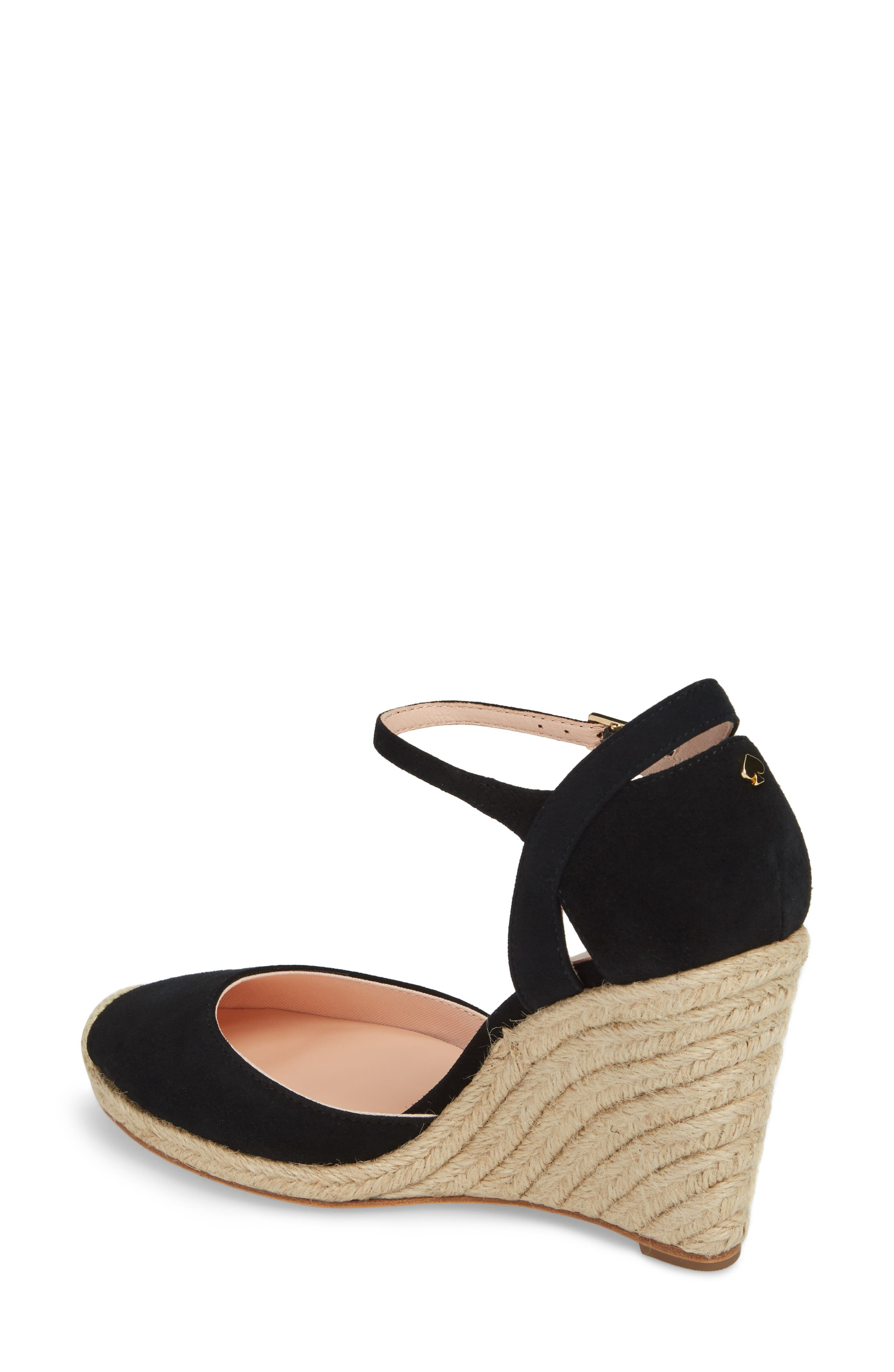 giovanna espadrille wedge,                             Alternate thumbnail 2, color,                             001