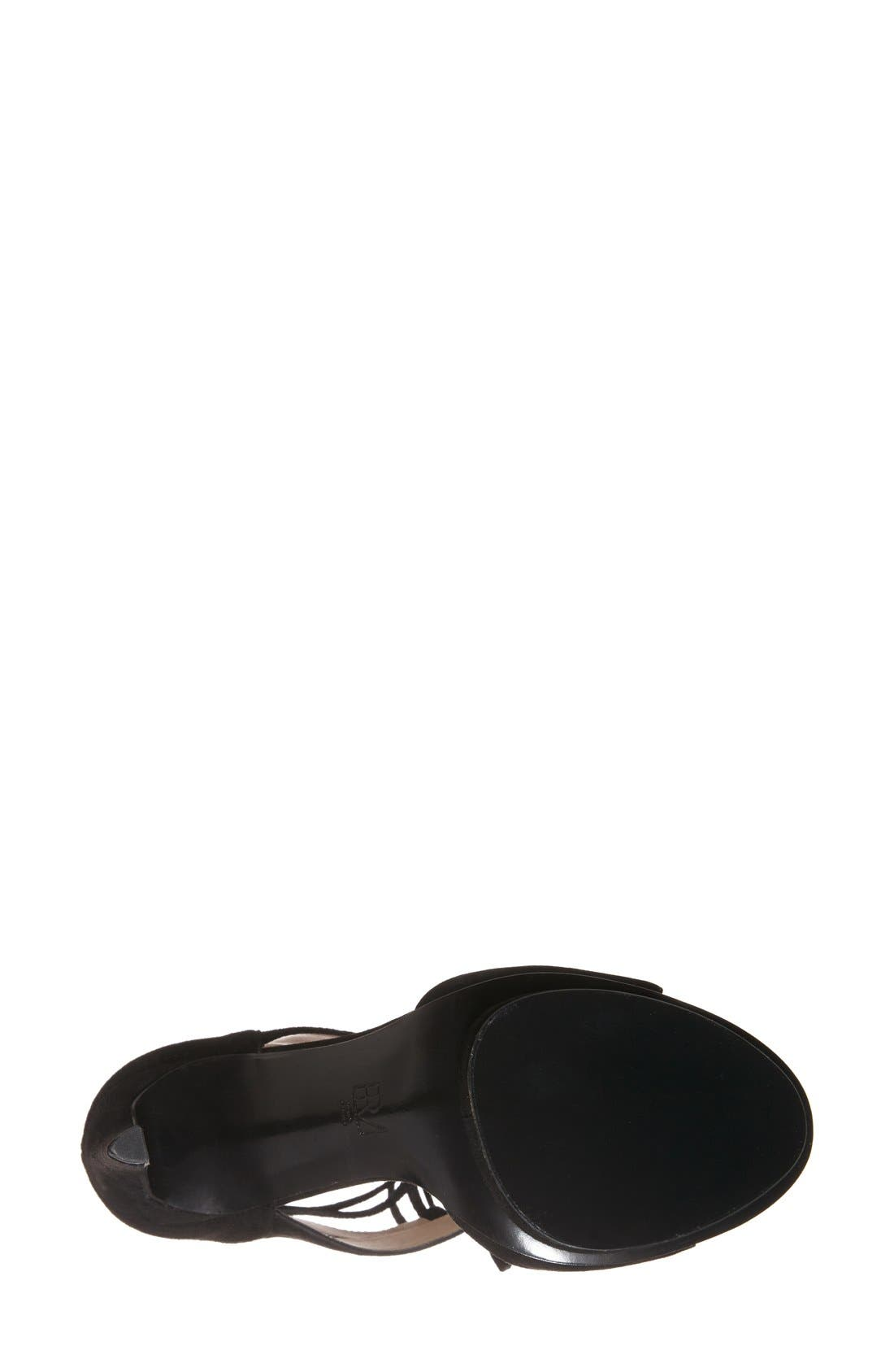 'Talbot' Lace-Up Sandal,                             Alternate thumbnail 2, color,                             001