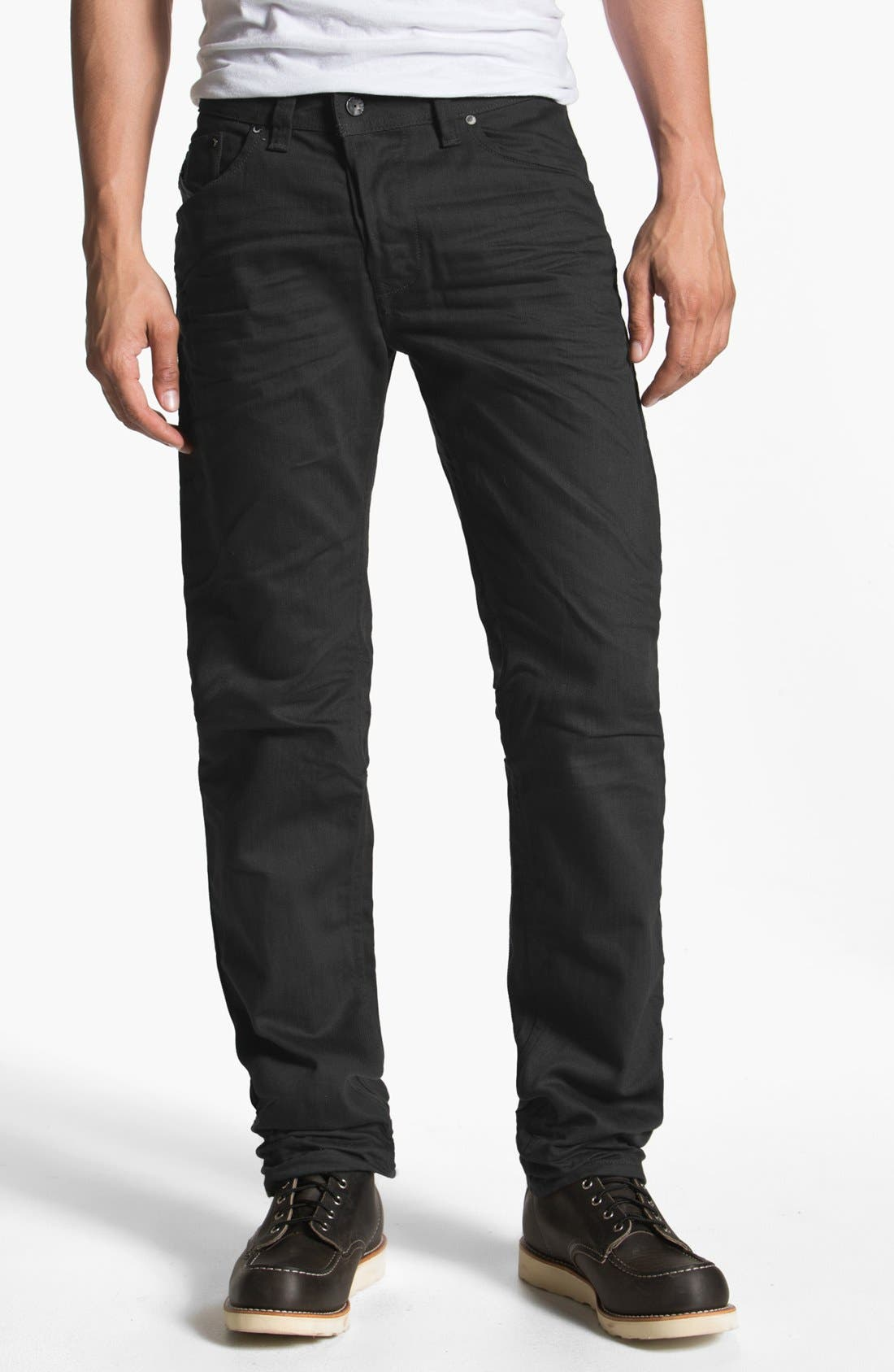 'Darron' Slim Fit Jeans,                             Alternate thumbnail 2, color,                             001