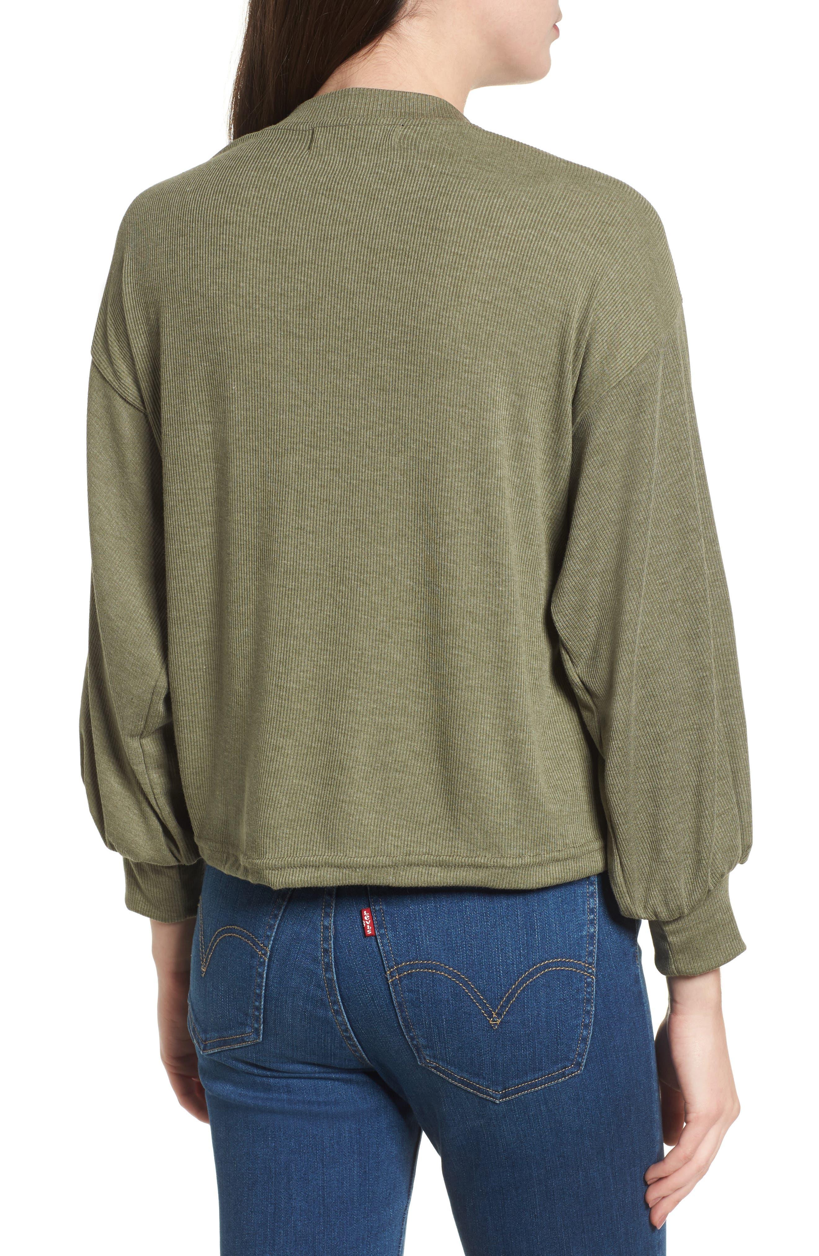 Balloon Sleeve Sweater,                             Alternate thumbnail 2, color,                             341