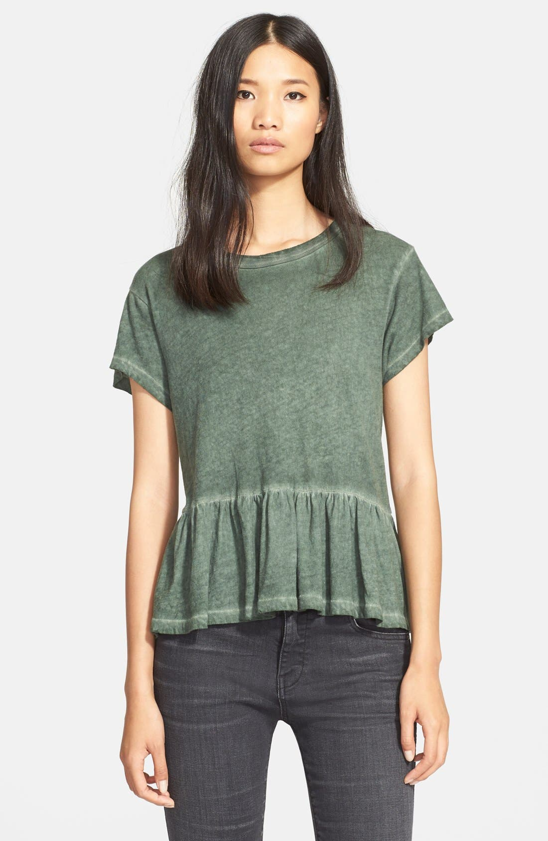The Ruffle Tee,                             Main thumbnail 3, color,