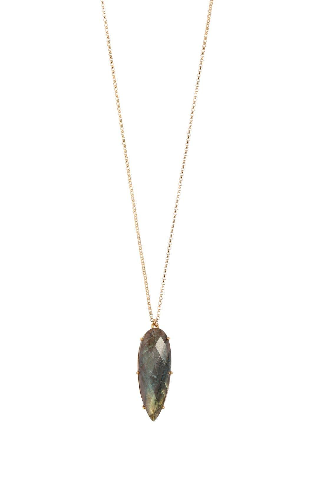 'Prism' Long Pendant Necklace,                         Main,                         color, 020