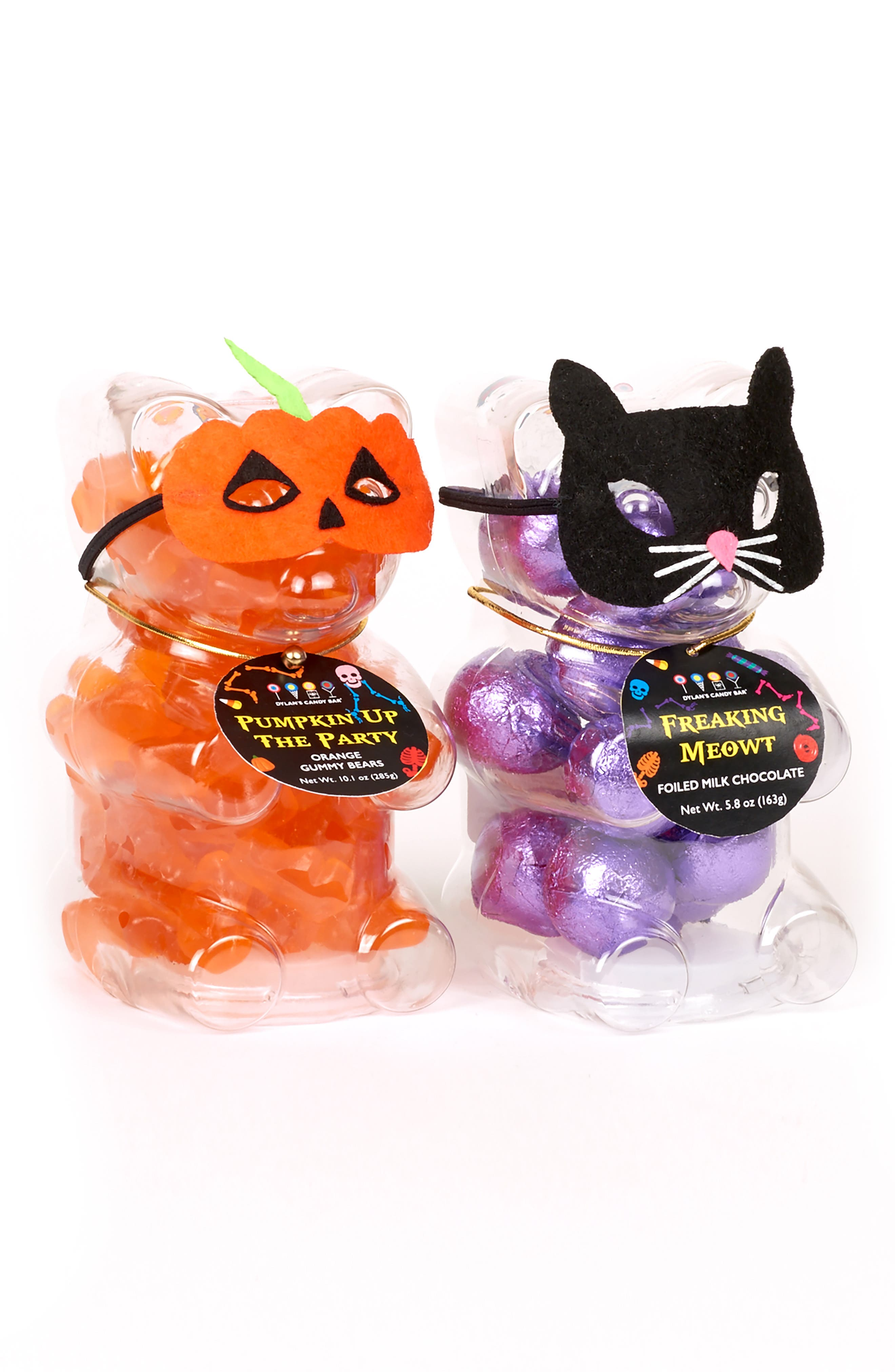 2-Piece Bear & Cat Halloween Gift Set,                             Main thumbnail 1, color,                             801