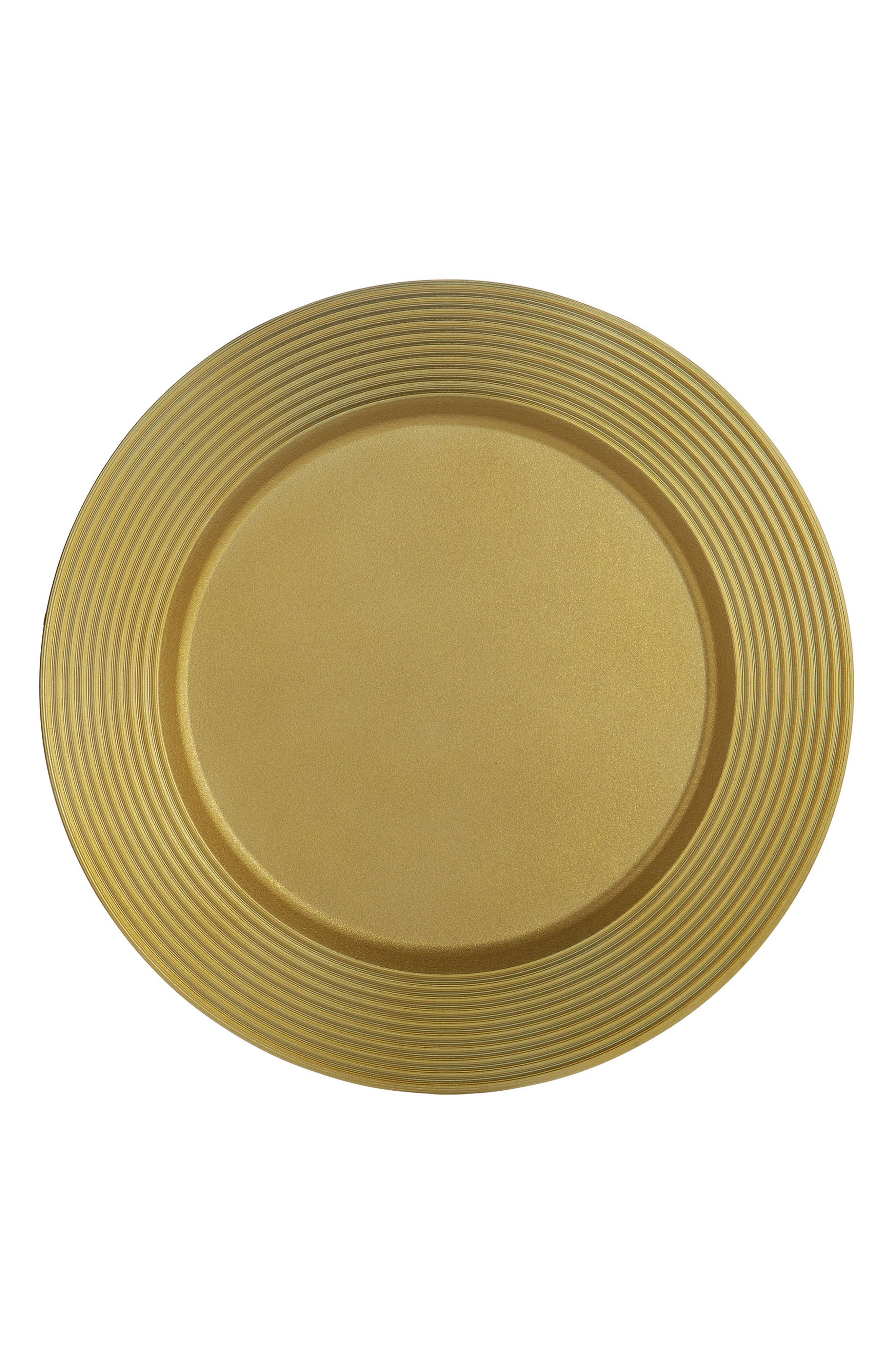 Wheat Charger Plate,                             Alternate thumbnail 2, color,                             GOLD