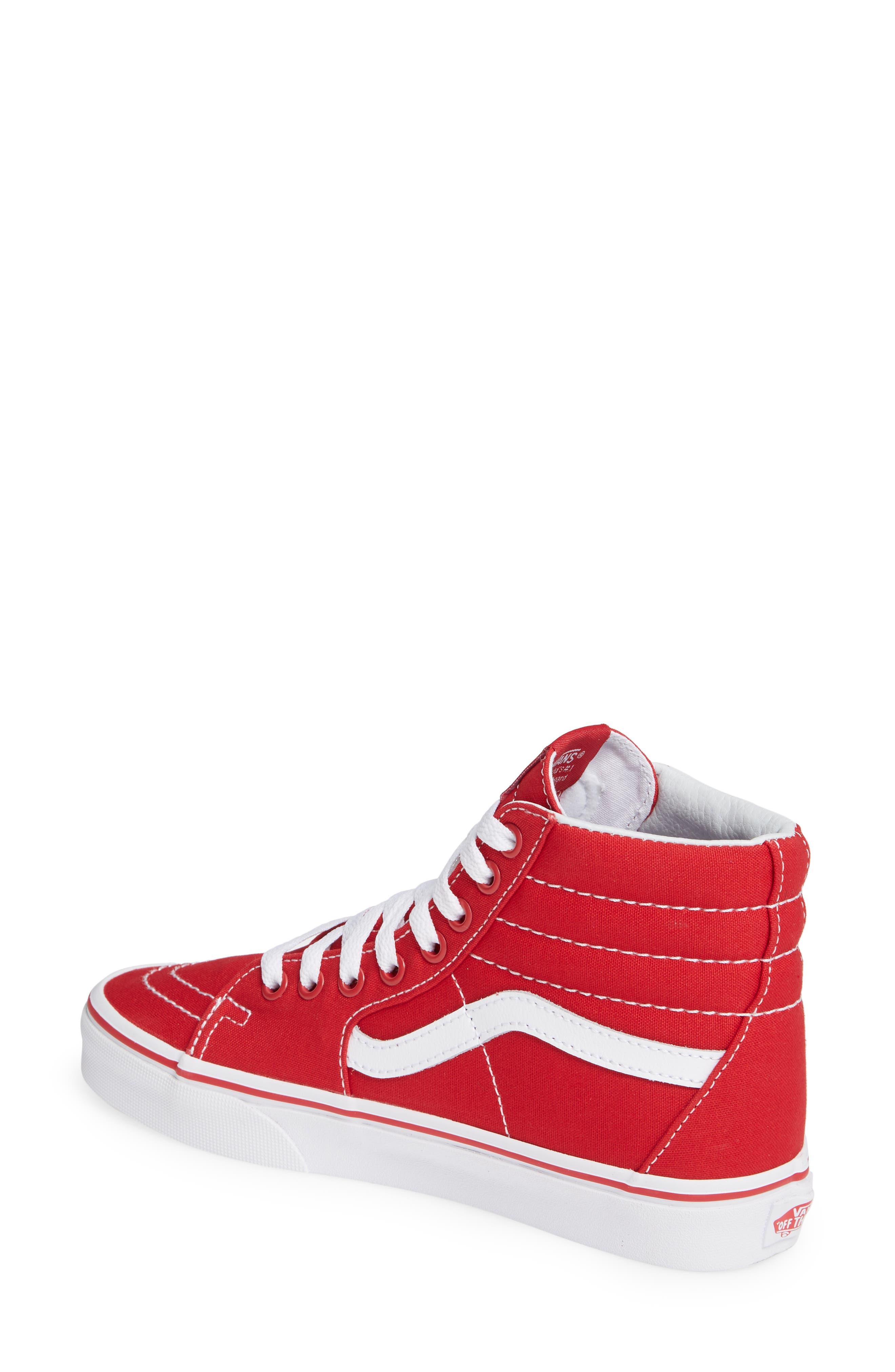 'Sk8-Hi' Sneaker,                             Alternate thumbnail 2, color,                             CANVAS FORMULA ONE