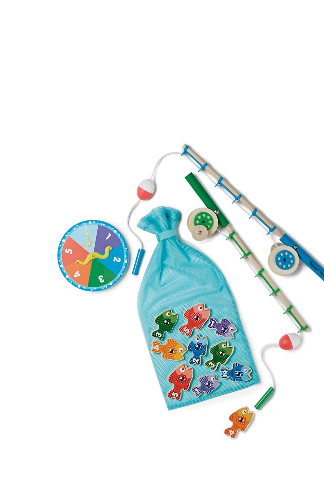 MELISSA & DOUG,                             'Catch & Count' Fishing Game,                             Alternate thumbnail 5, color,                             BLUE MULTI