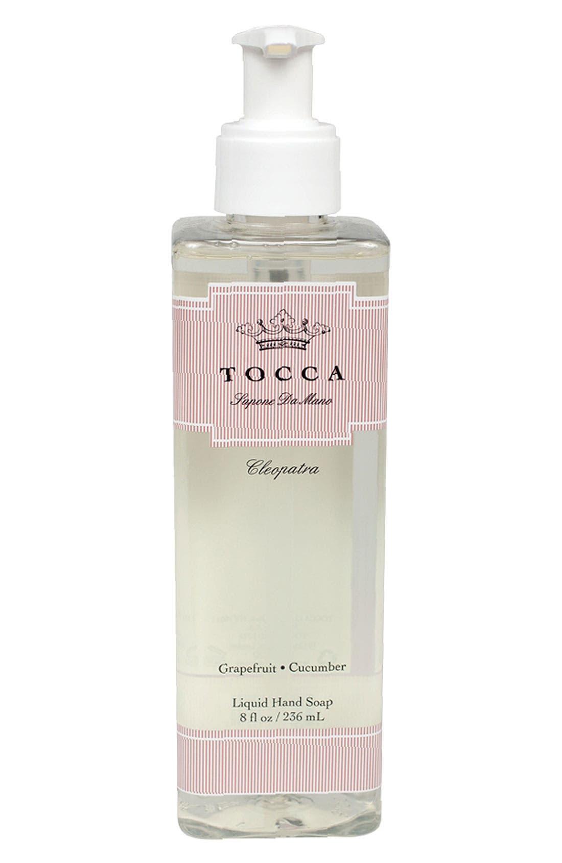 'Cleopatra' Liquid Hand Soap,                             Main thumbnail 1, color,                             000